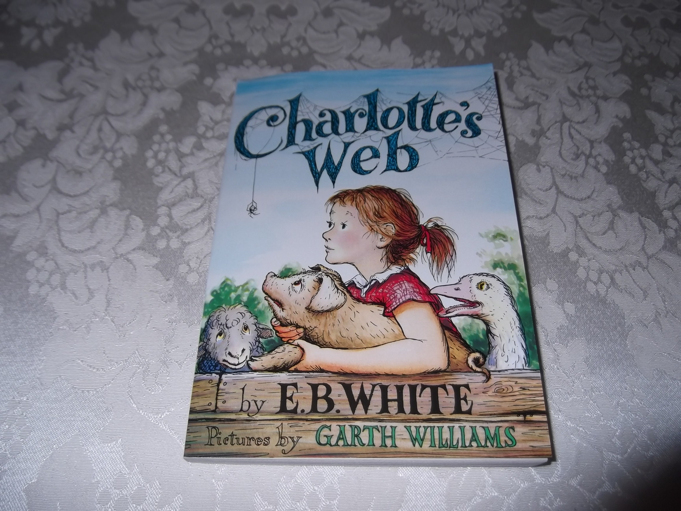 Charlotte's Web E.B. White Garth Williams Brand New Chapter Book