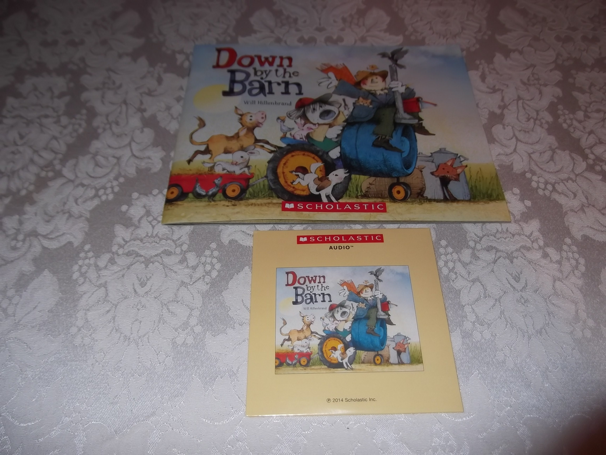 Down by the Barn Will Hillenbrand Brand New Audio CD and SC