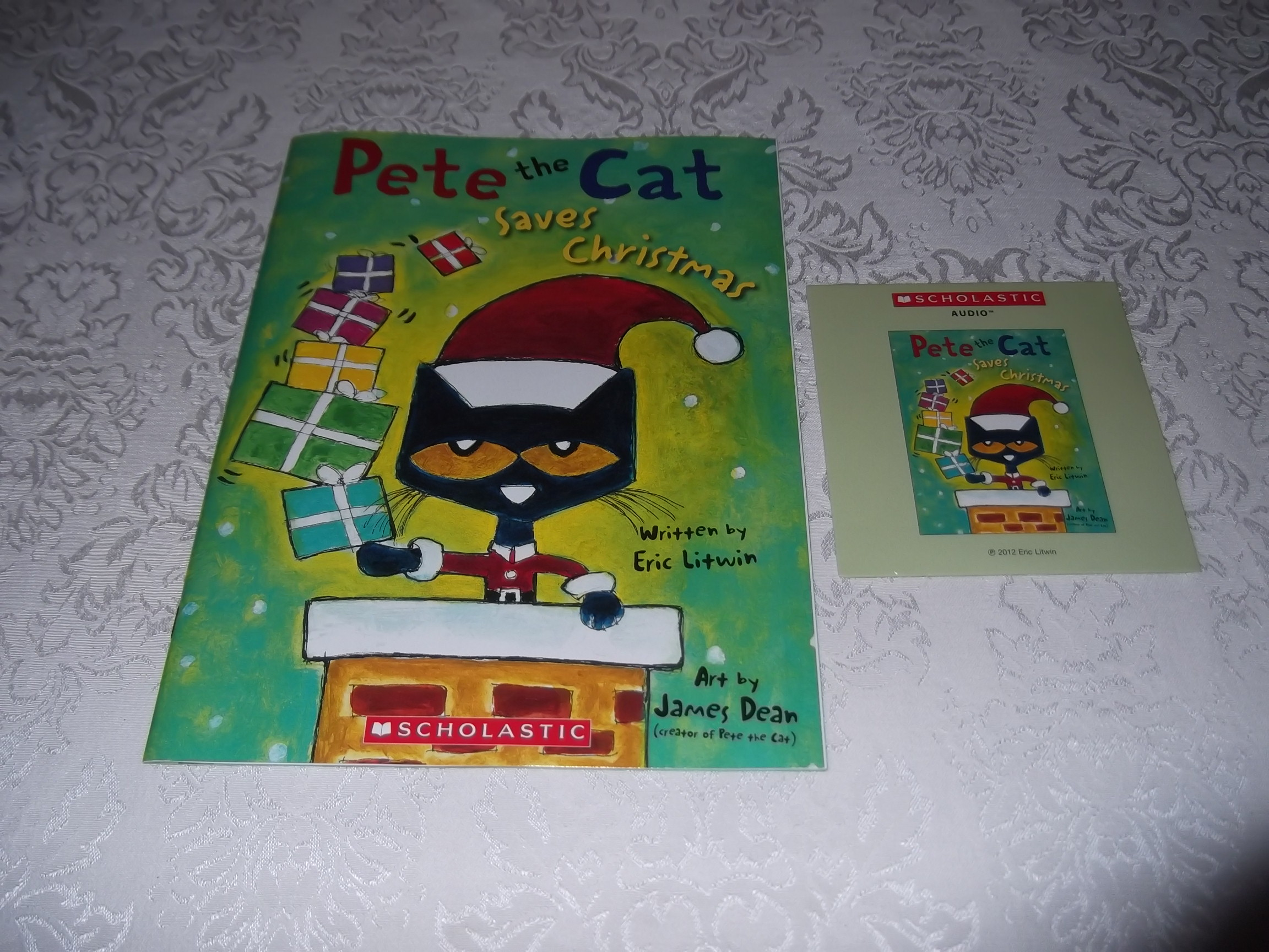 pete the cat saves christmas brand new audio cd and sc eric litwin - Pete The Cat Saves Christmas