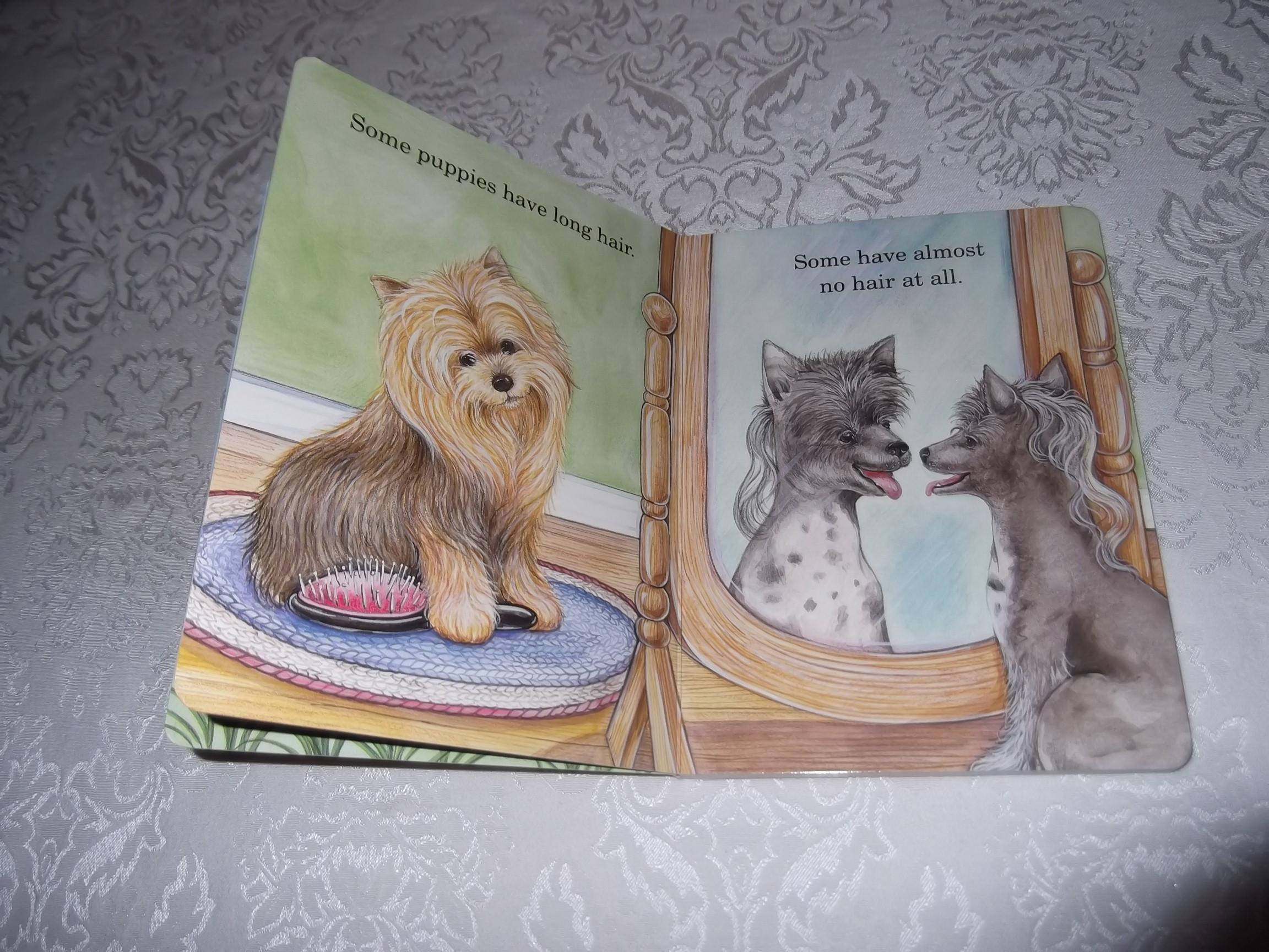 Image 2 of God Made Puppies Marian Bennet Happy Day Brand New Board Book