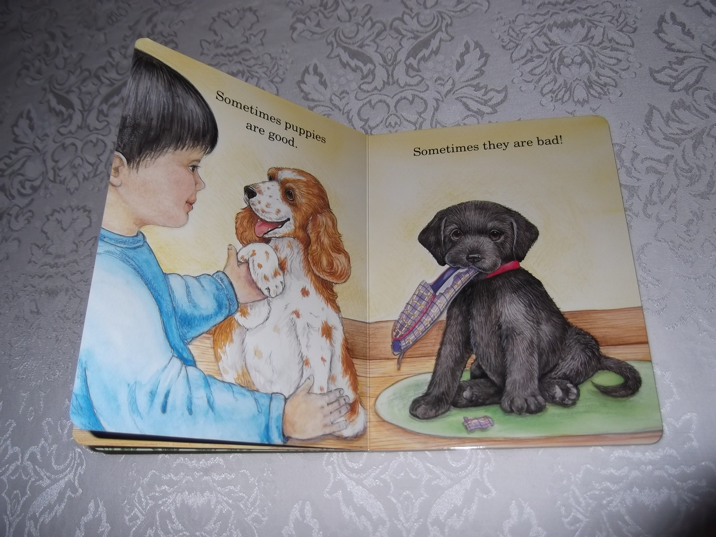 Image 3 of God Made Puppies Marian Bennet Happy Day Brand New Board Book