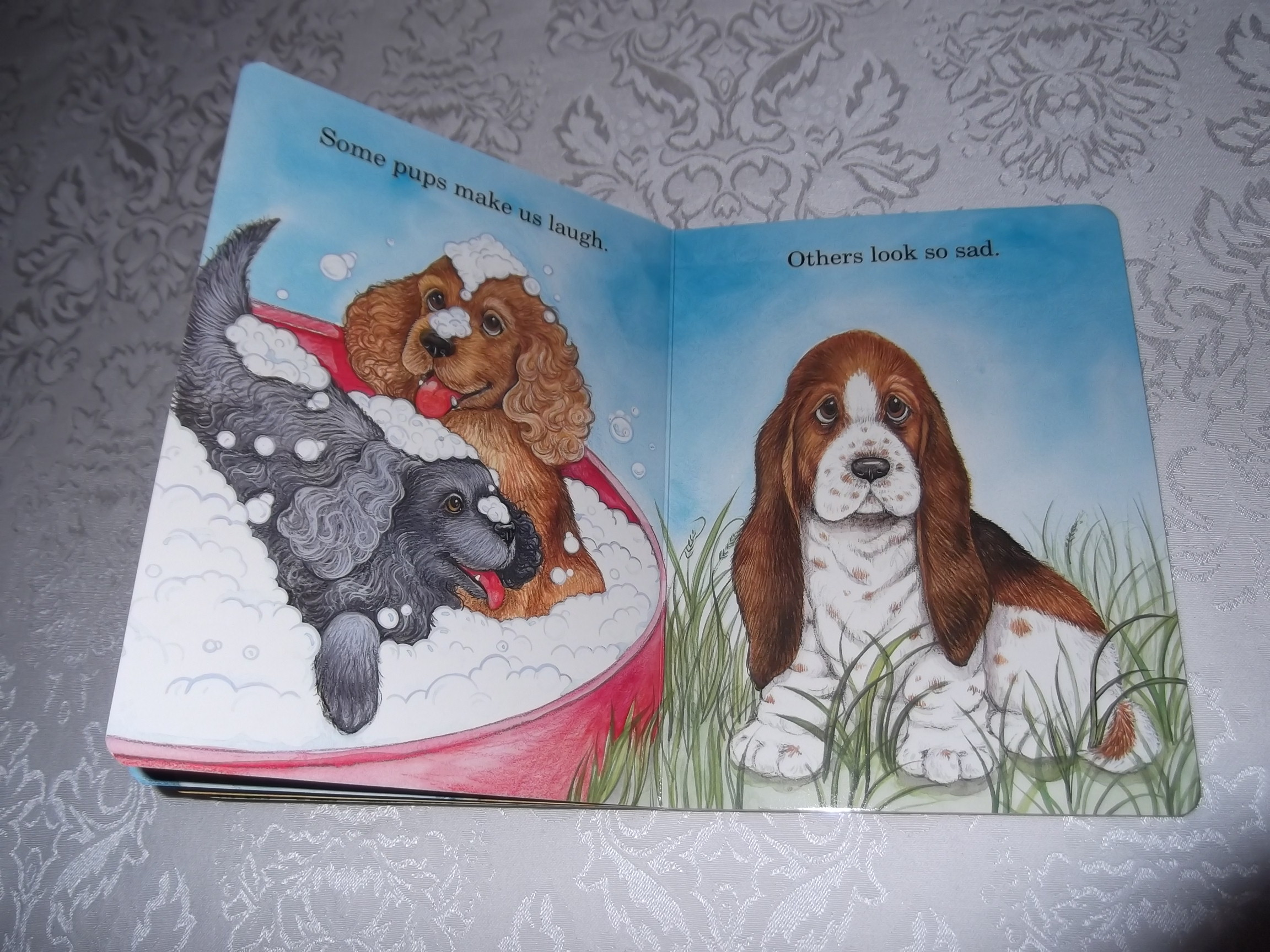 Image 4 of God Made Puppies Marian Bennet Happy Day Brand New Board Book