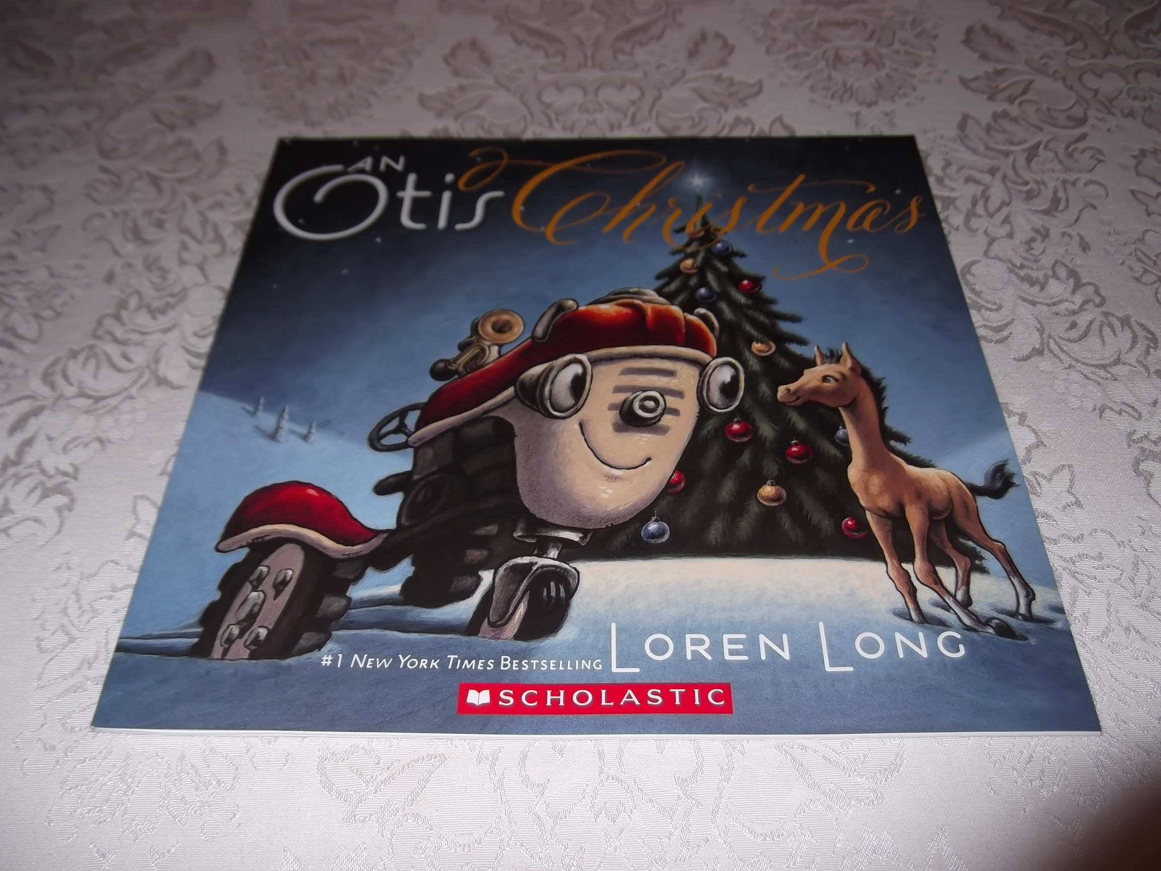 An Otis Christmas Loren Long brand new softcover