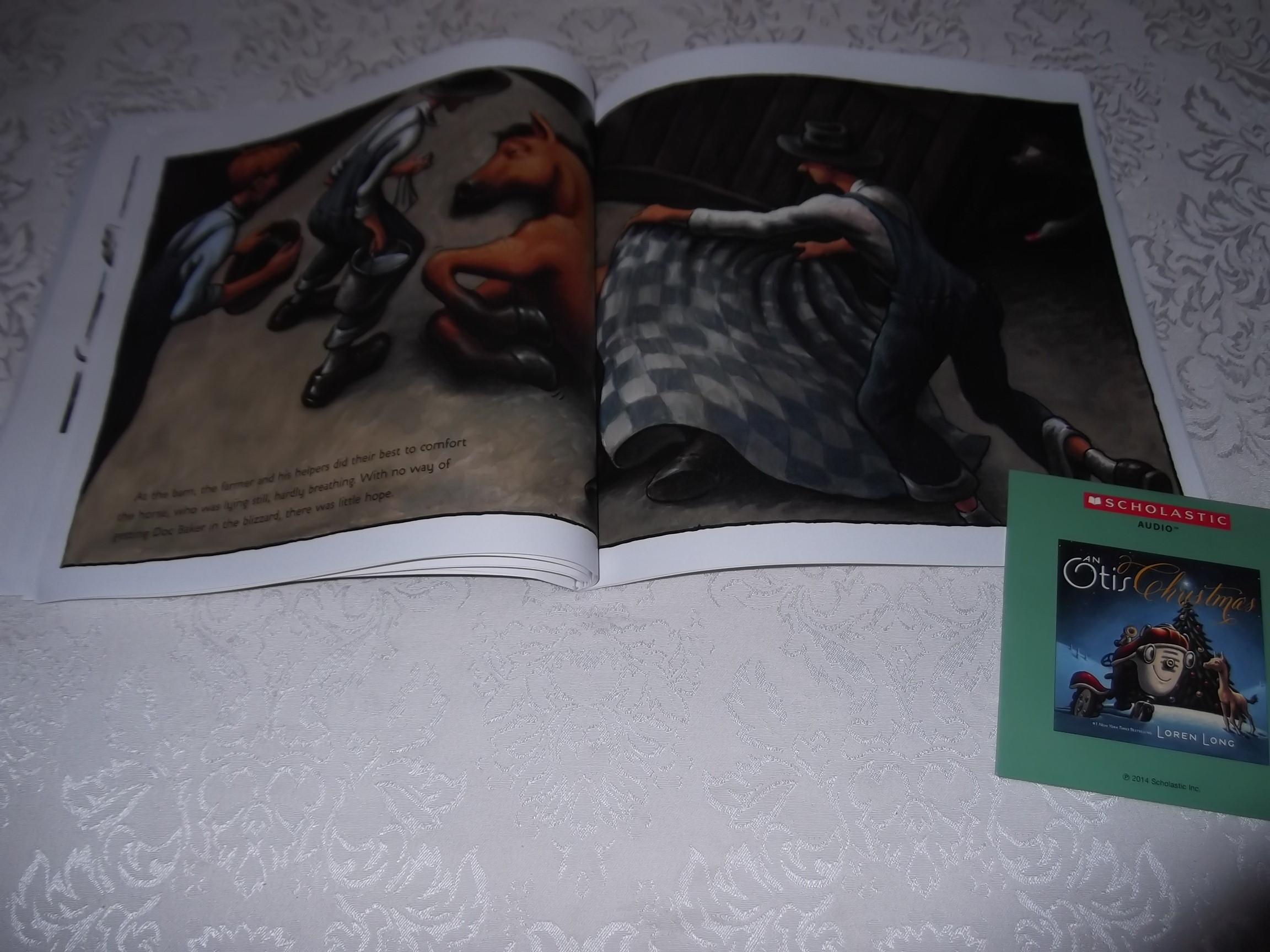 Image 6 of An Otis Christmas Loren Long Brand New Audio CD and Softcover