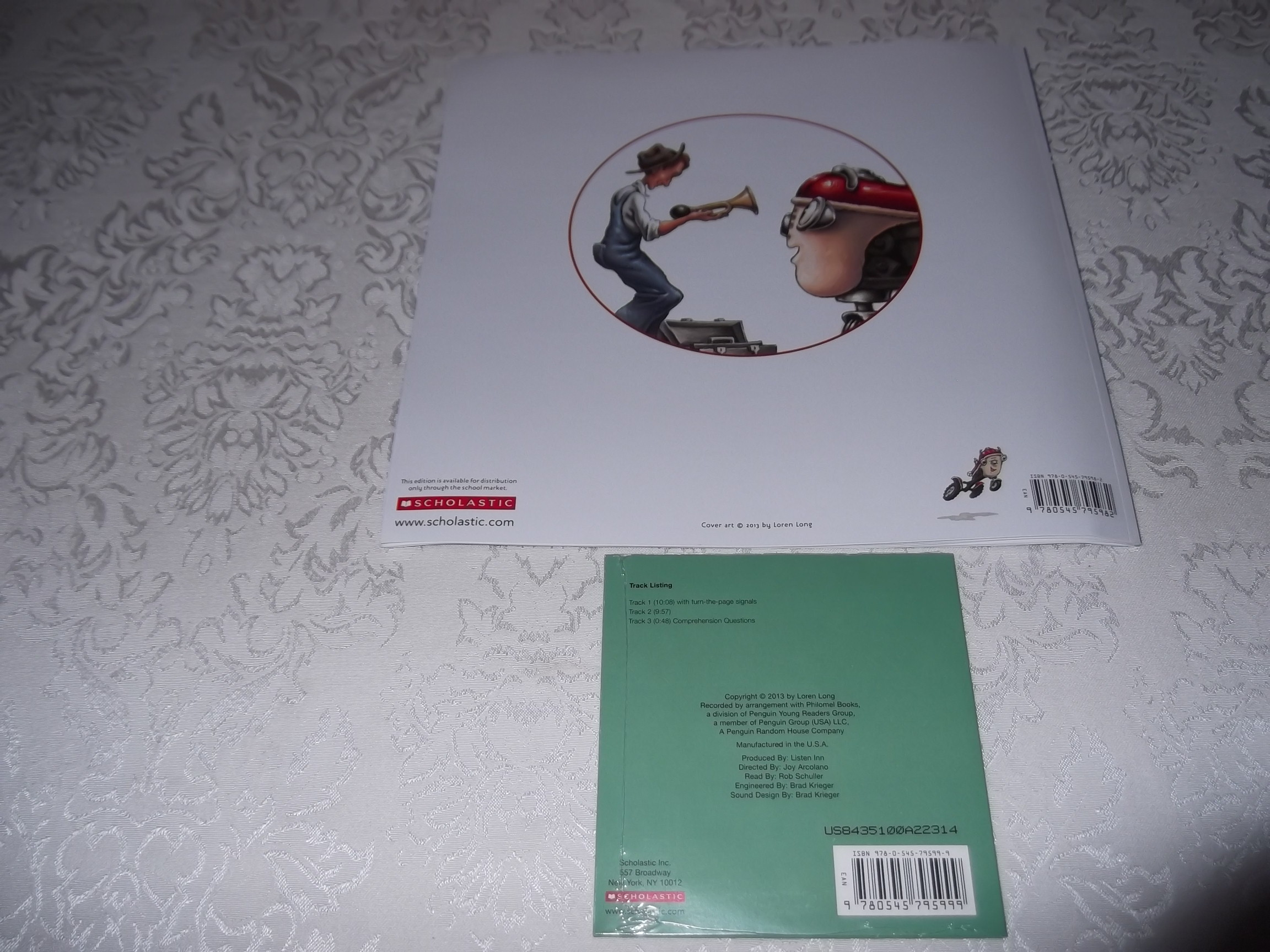 Image 8 of An Otis Christmas Loren Long Brand New Audio CD and Softcover