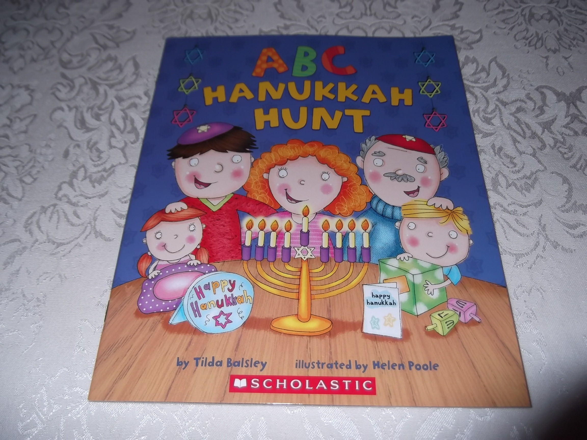 ABC Hanukkah Hunt Tilda Balsley Brand New Softcover