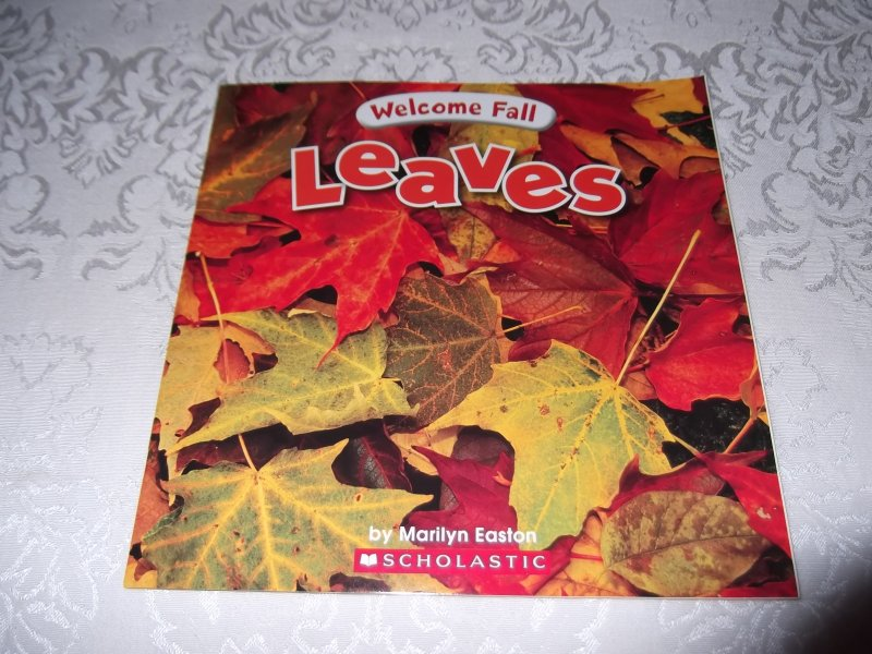 Welcome Fall Leaves Marilyn Easton Brand New Softcover
