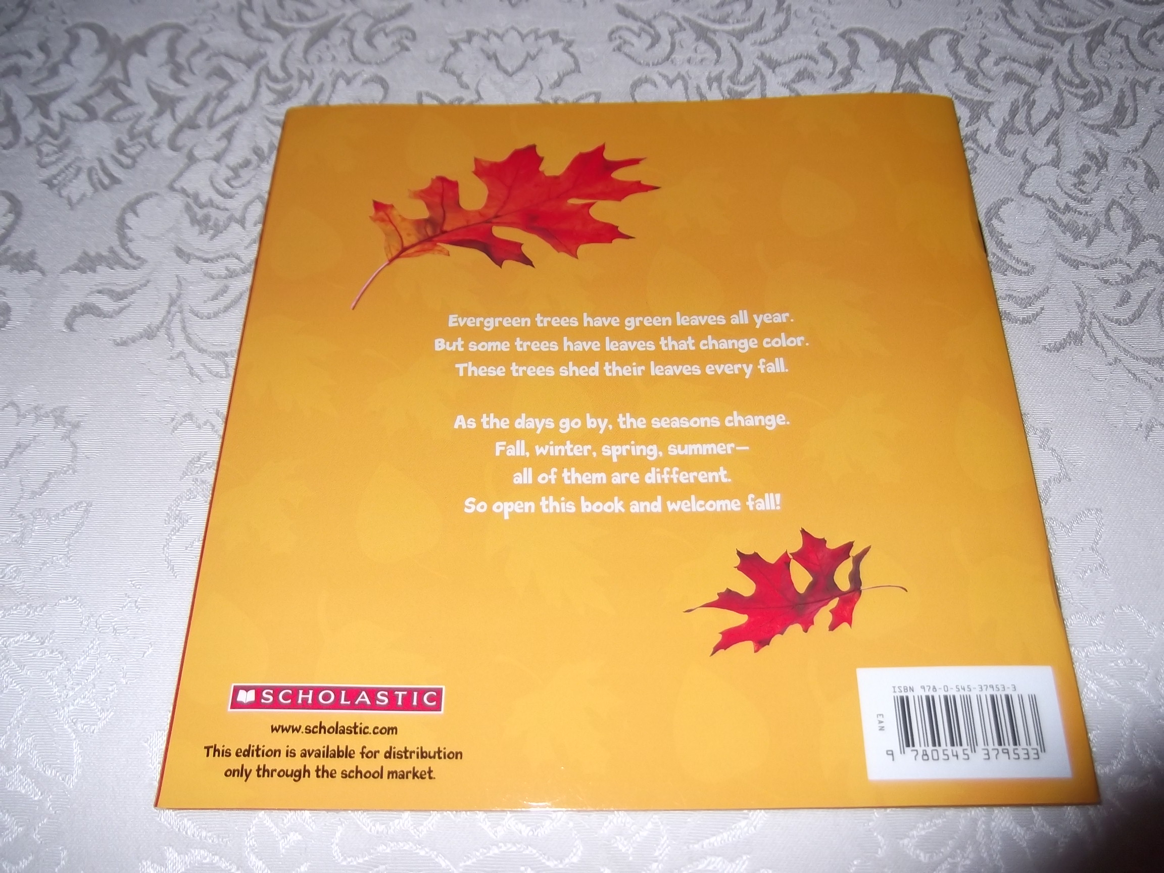 Image 12 Of Welcome Fall Leaves Marilyn Easton Brand New Softcover