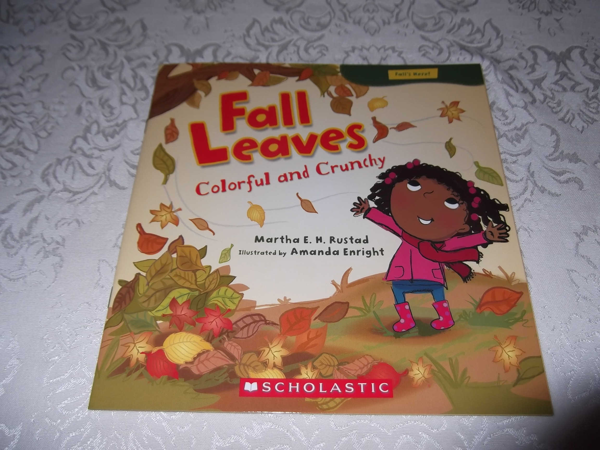 Fall Leaves Colorful and Crunchy Martha E. H. Rustad Brand New Softcover