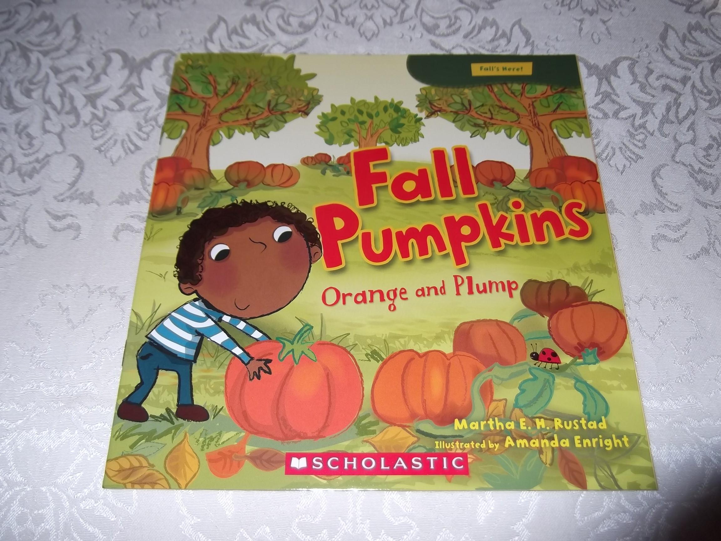 Fall Pumpkins Orange and Plump Martha E. H. Rustad Brand New Softcover