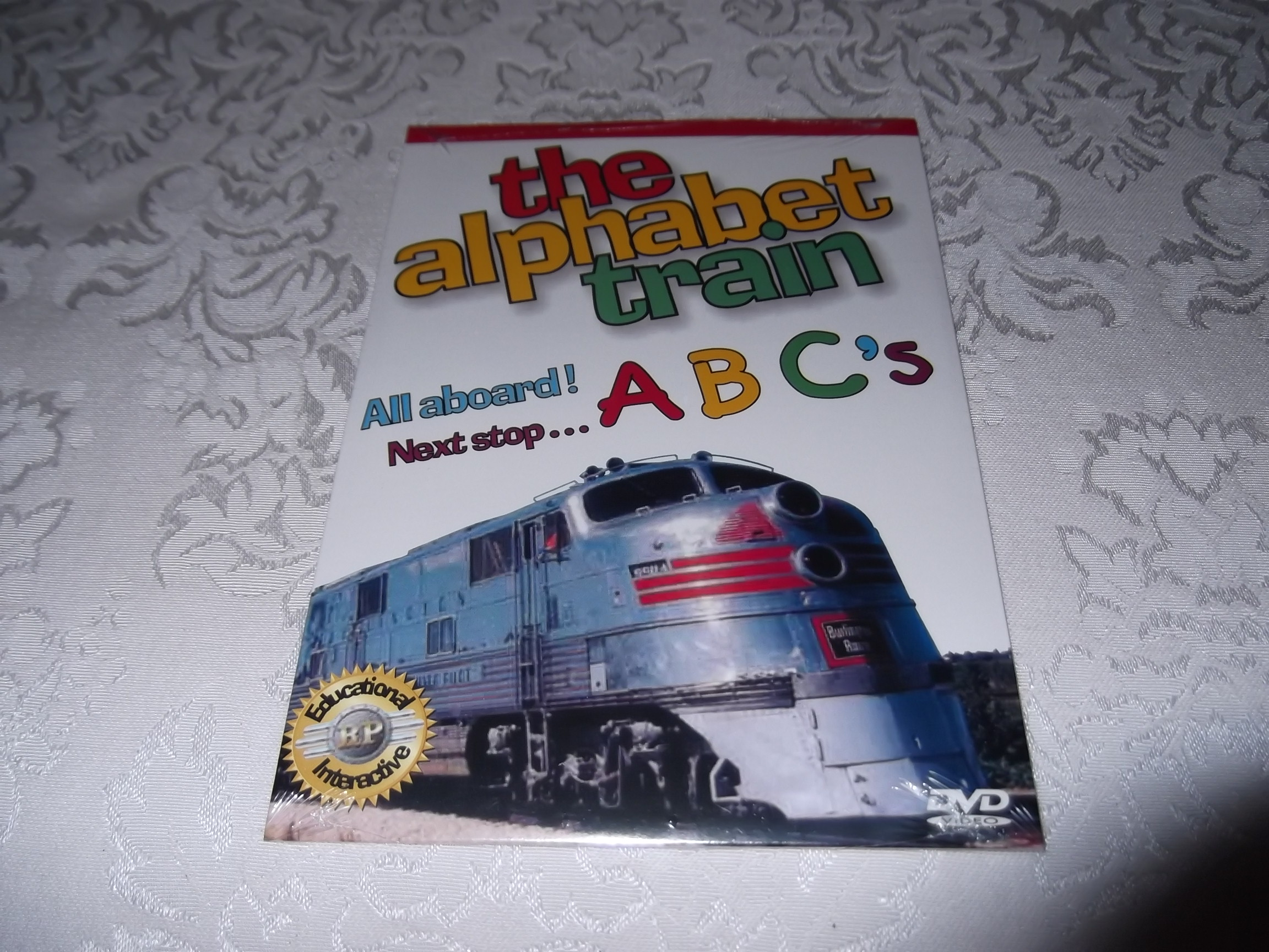 The Alphabet Train DVD 60 Minutes Brand New and Sealed Wonderscape