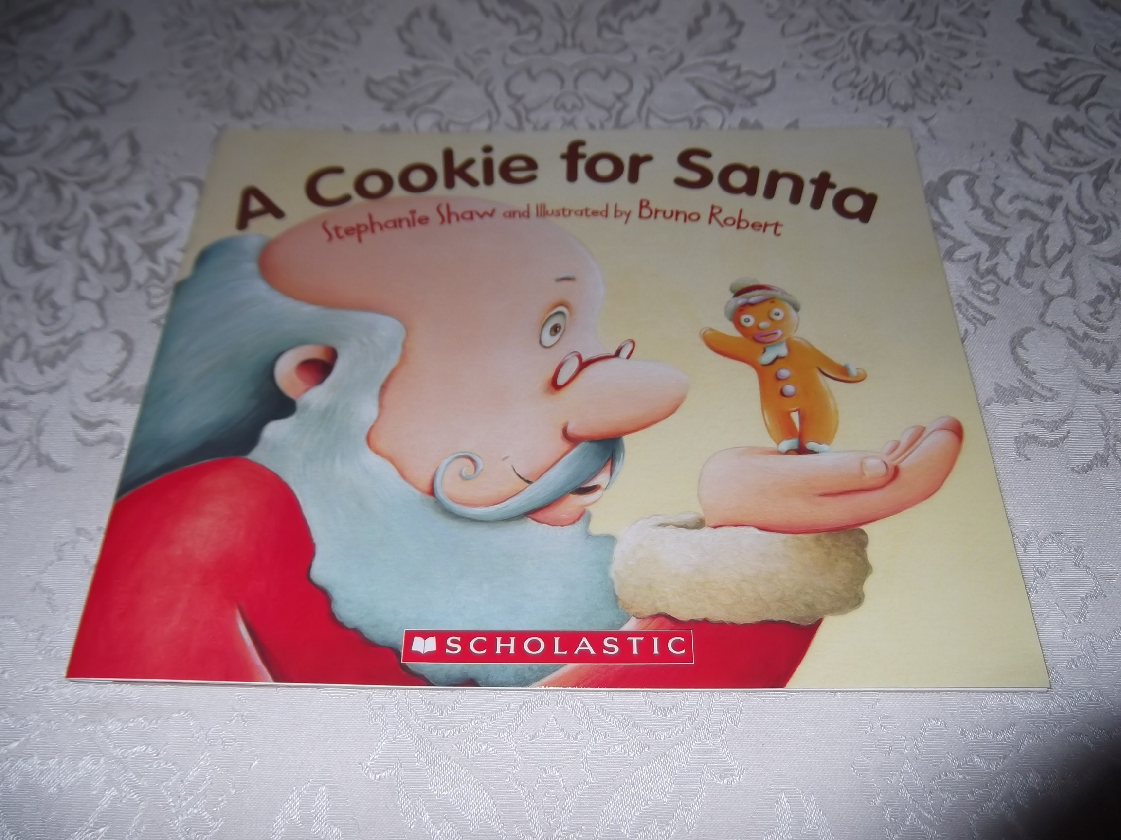 A Cookie for Santa Stephanie Shaw Brand New Softcover