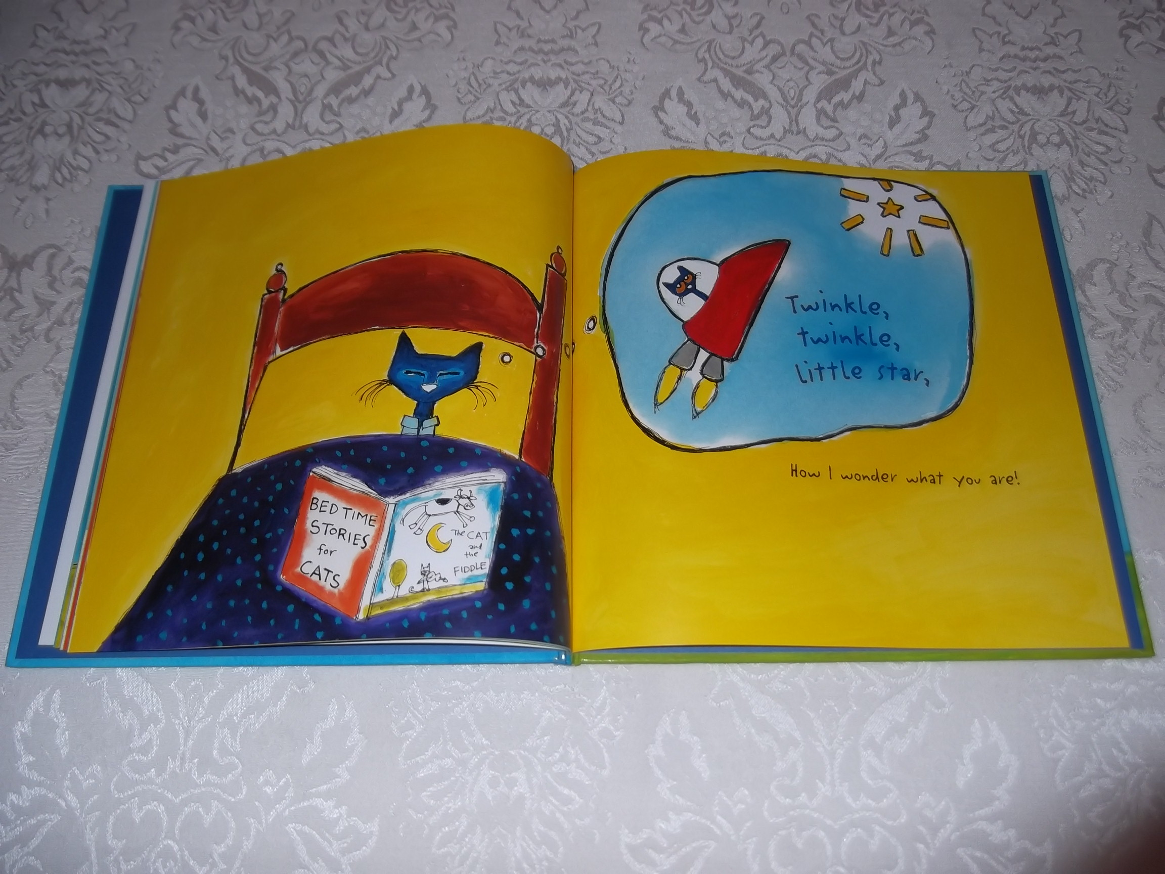 Image 4 of Pete the Cat Twinkle, Twinkle, Little Star James Dean Brand New HC