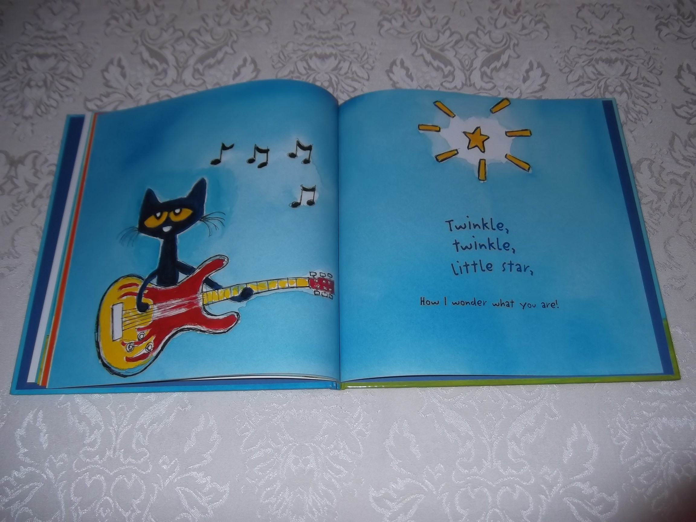 Image 2 of Pete the Cat Twinkle, Twinkle, Little Star James Dean Brand New HC