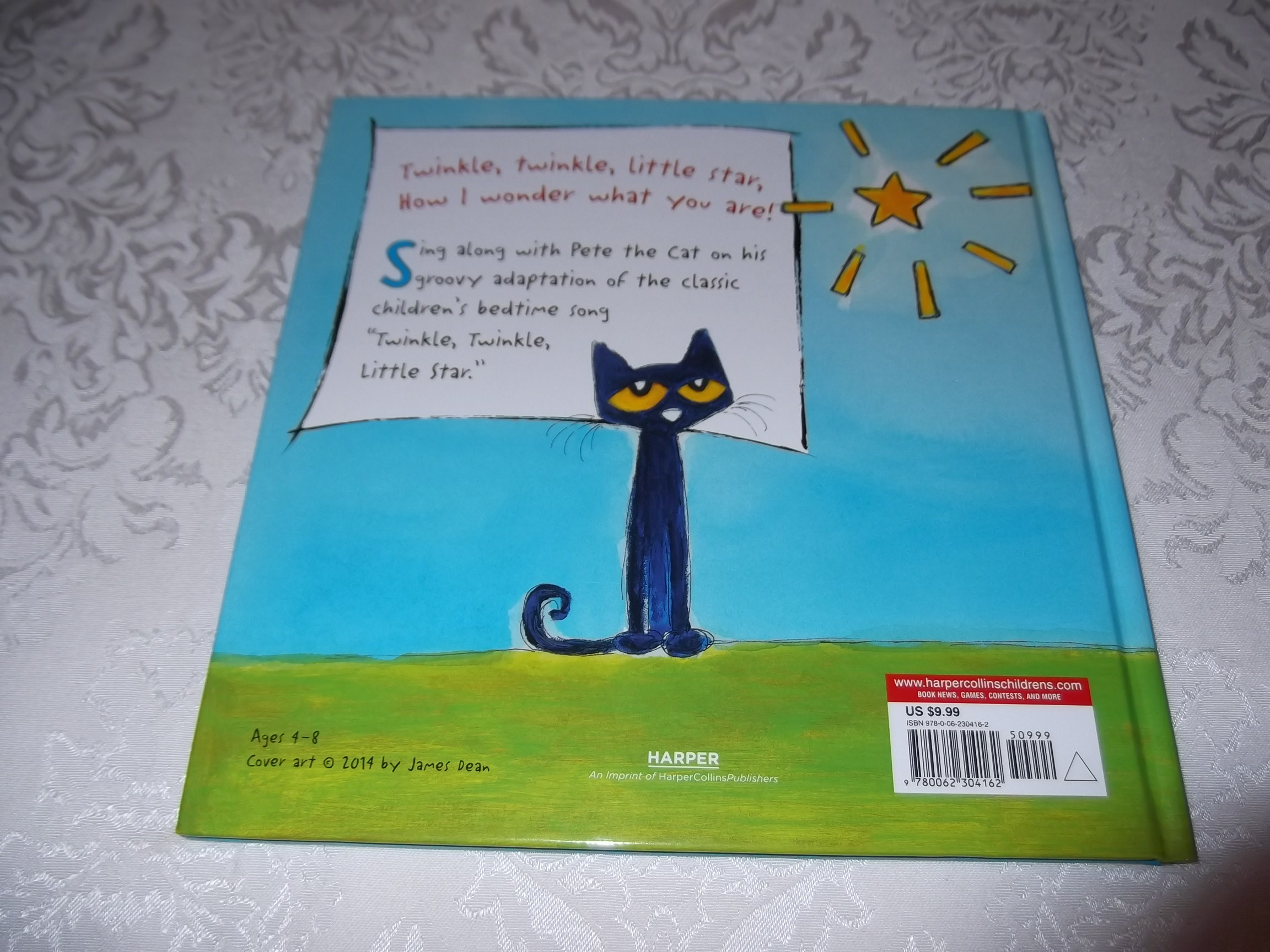 Image 15 of Pete the Cat Twinkle, Twinkle, Little Star James Dean Brand New HC