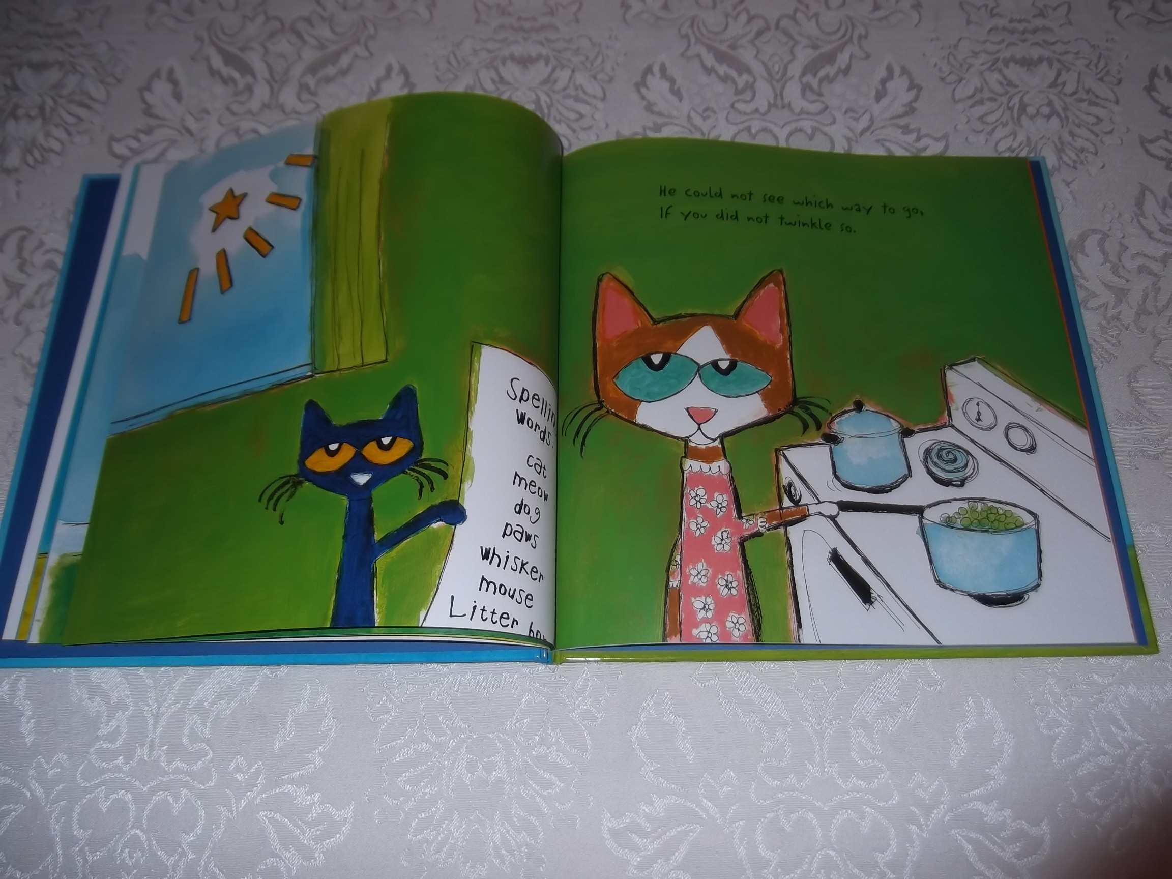 Image 9 of Pete the Cat Twinkle, Twinkle, Little Star James Dean Brand New HC