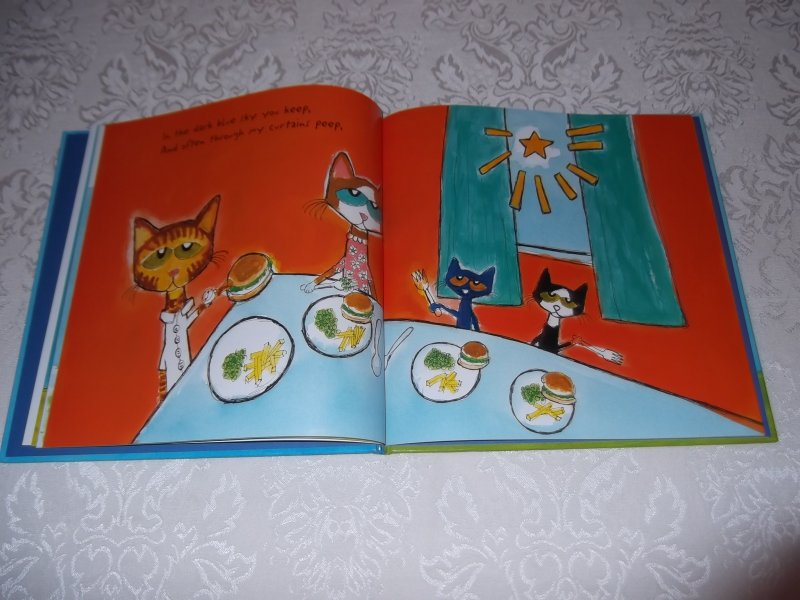 Image 8 of Pete the Cat Twinkle, Twinkle, Little Star James Dean Brand New HC