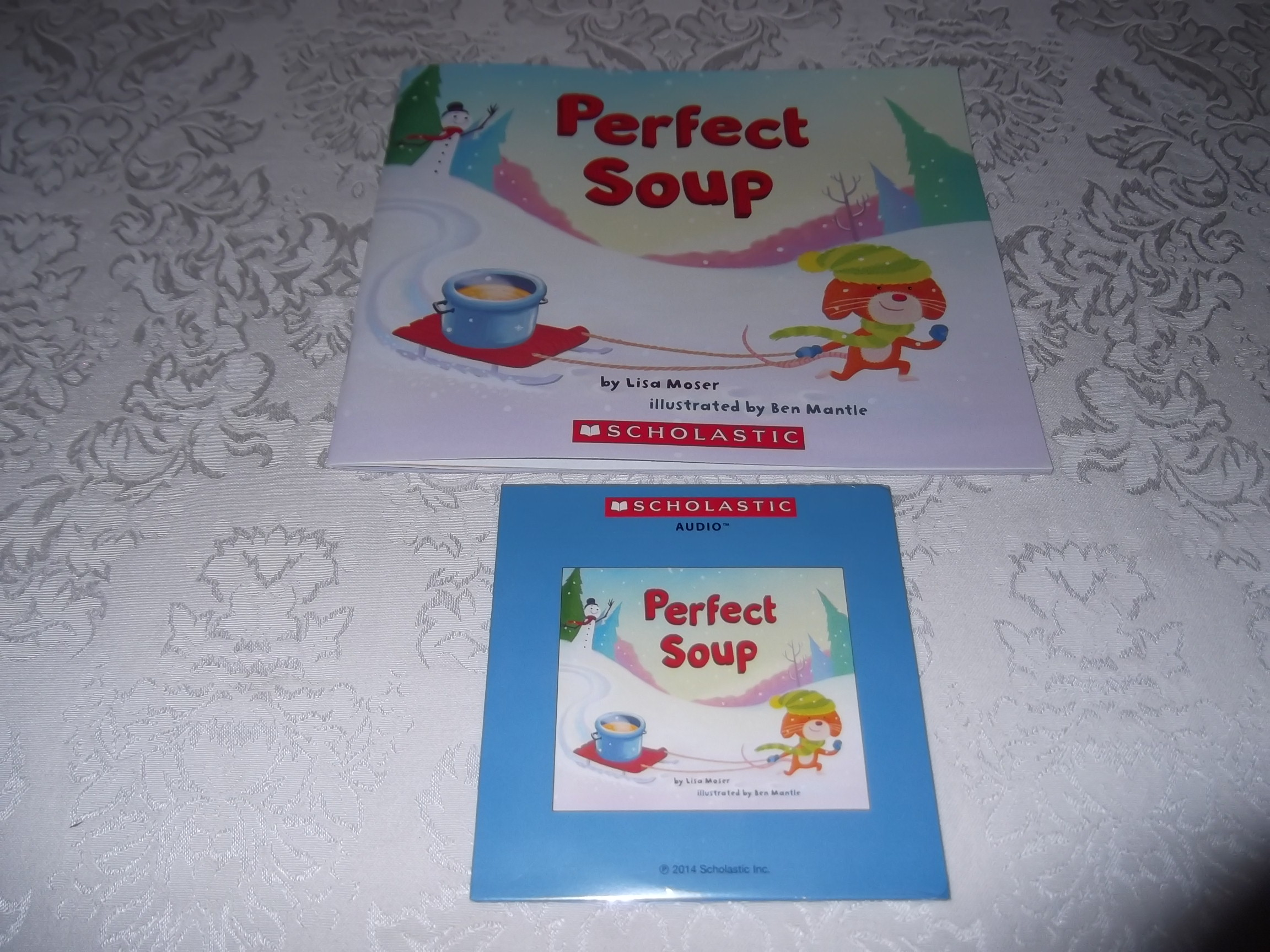 Perfect Soup Lisa Moser Brand New Audio CD and Softcover