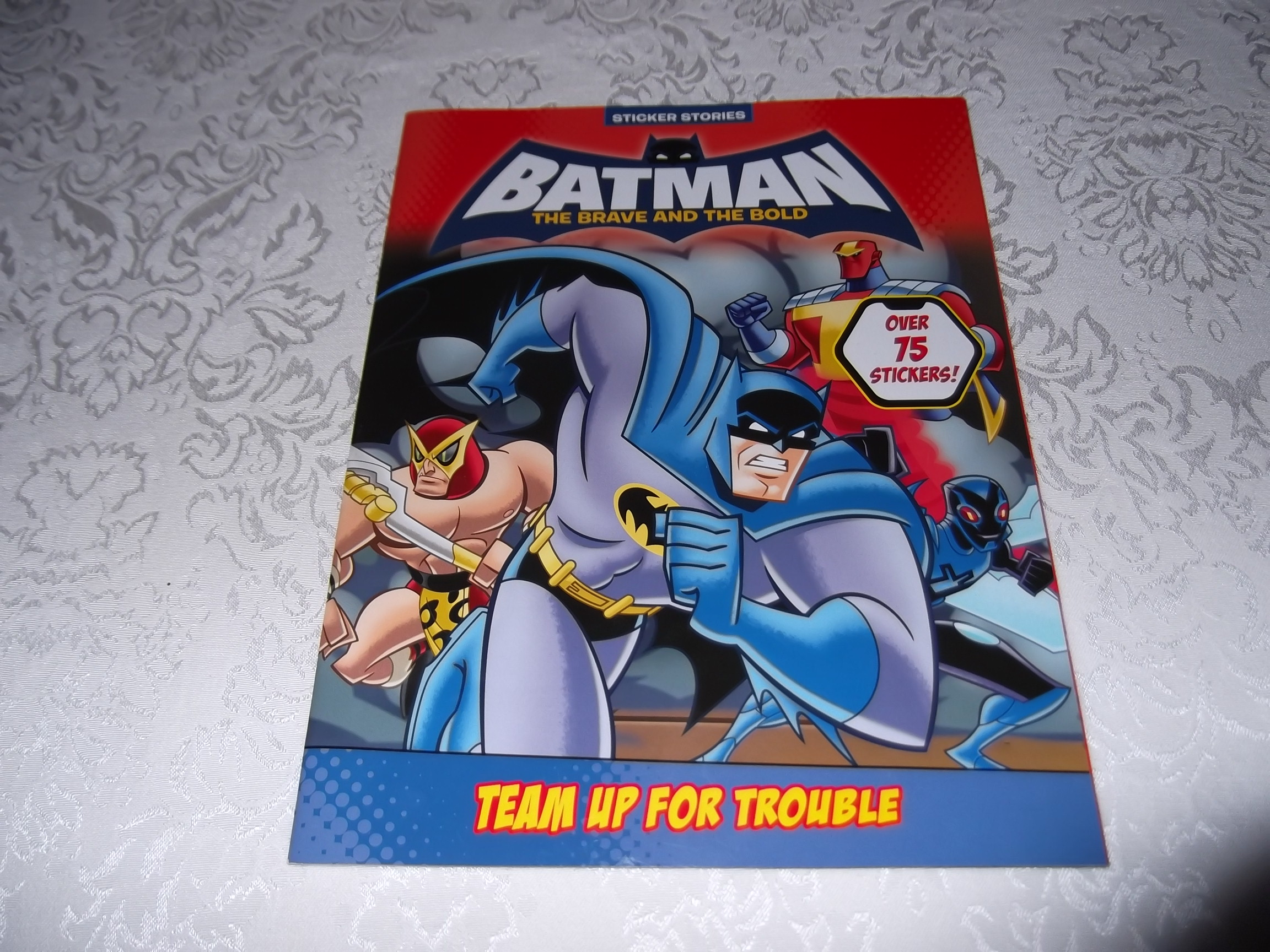 Batman The Brave And The Bold Sticker Activity Book Bob Kane Brand New SC