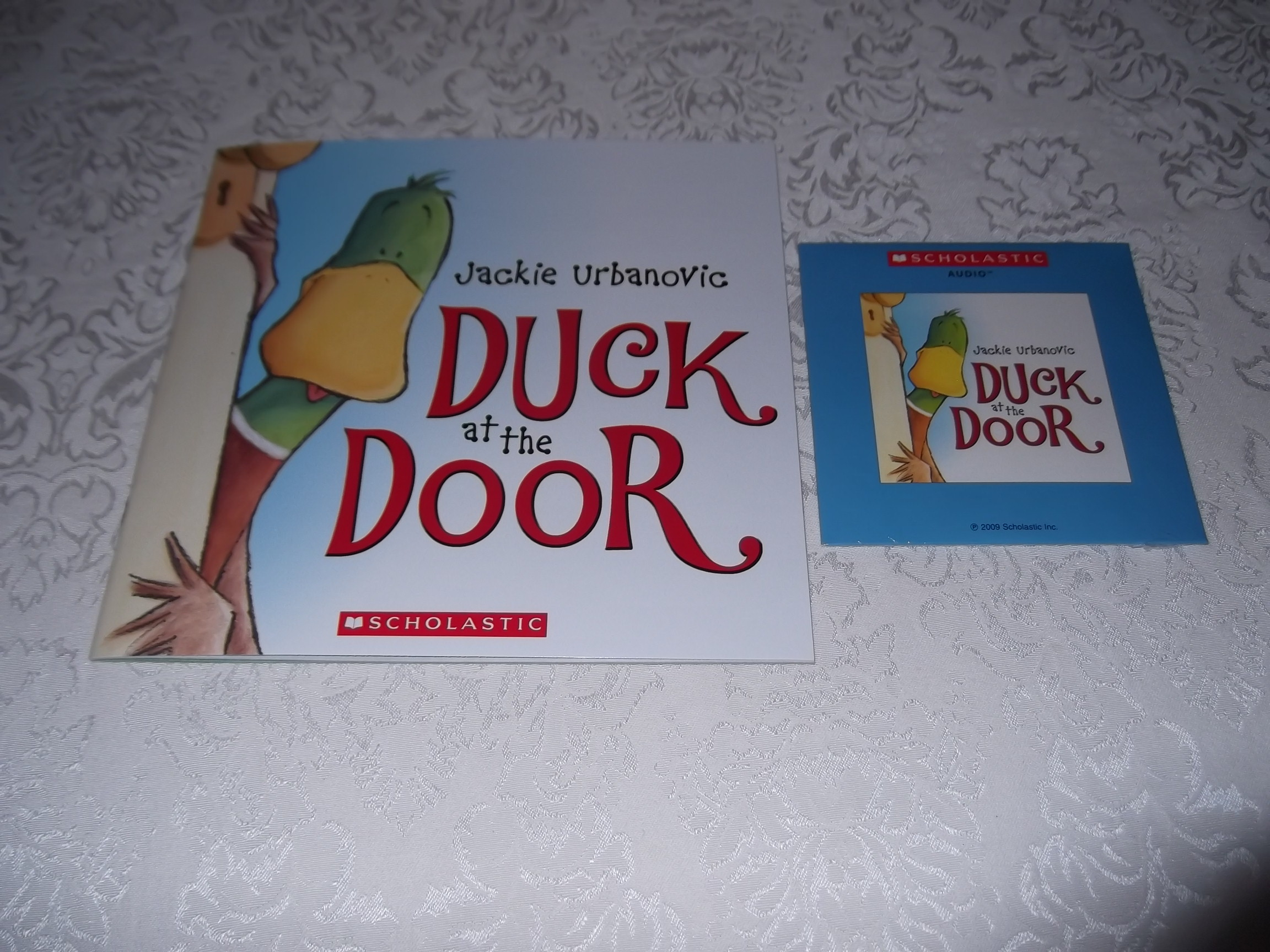 Duck at the Door Jackie Urbanovic Audio CD and SC Brand New