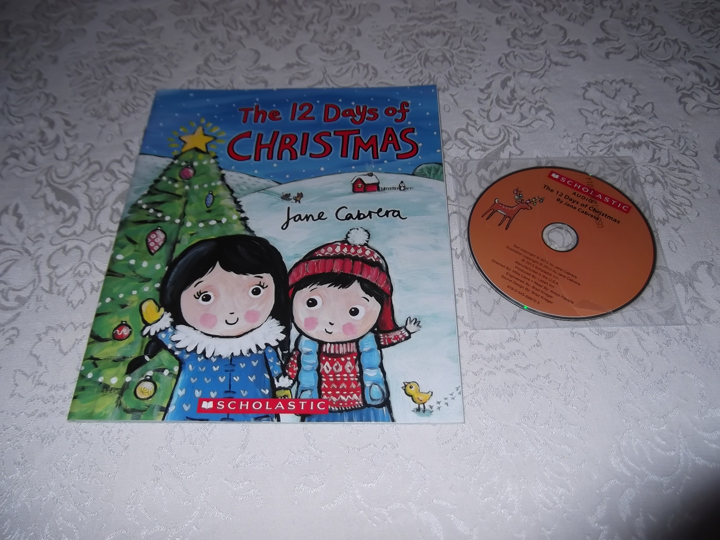 Brand New Audio CD and Softcover by Jane Cabrera