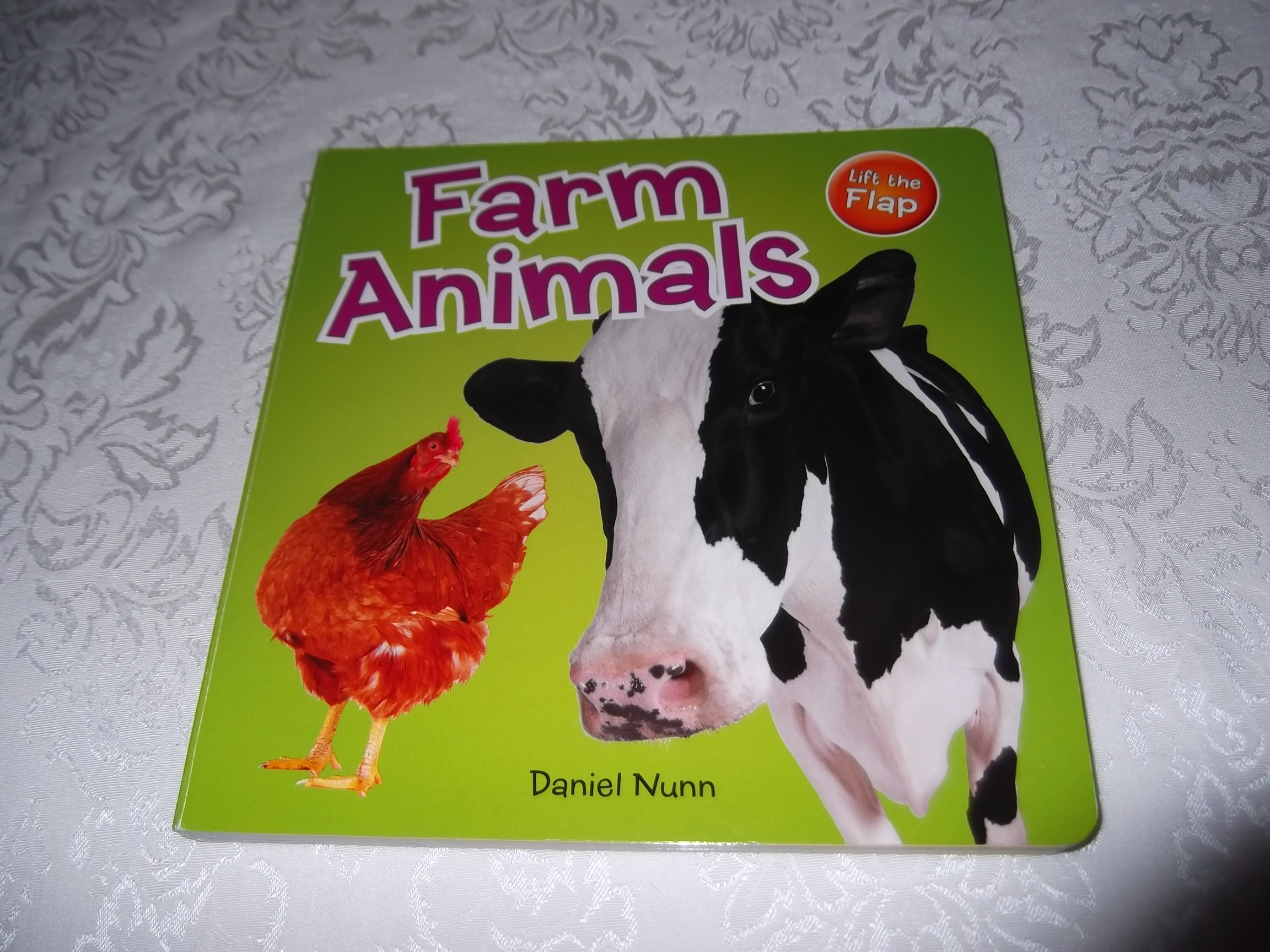Farm Animals Daniel Nunn Brand New Lift the Flap Board Book