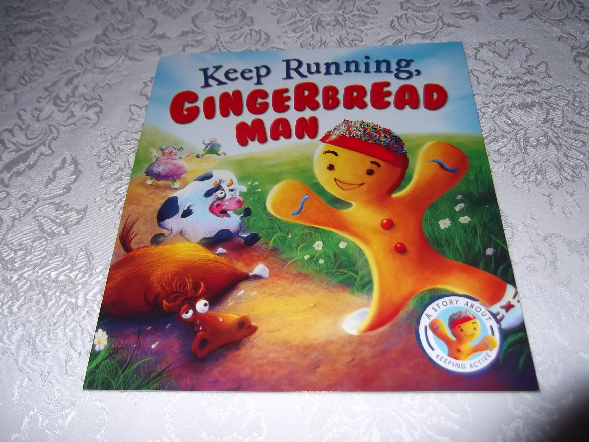 Keep Running, Gingerbread Man Steve Smallman Brand New Softcover