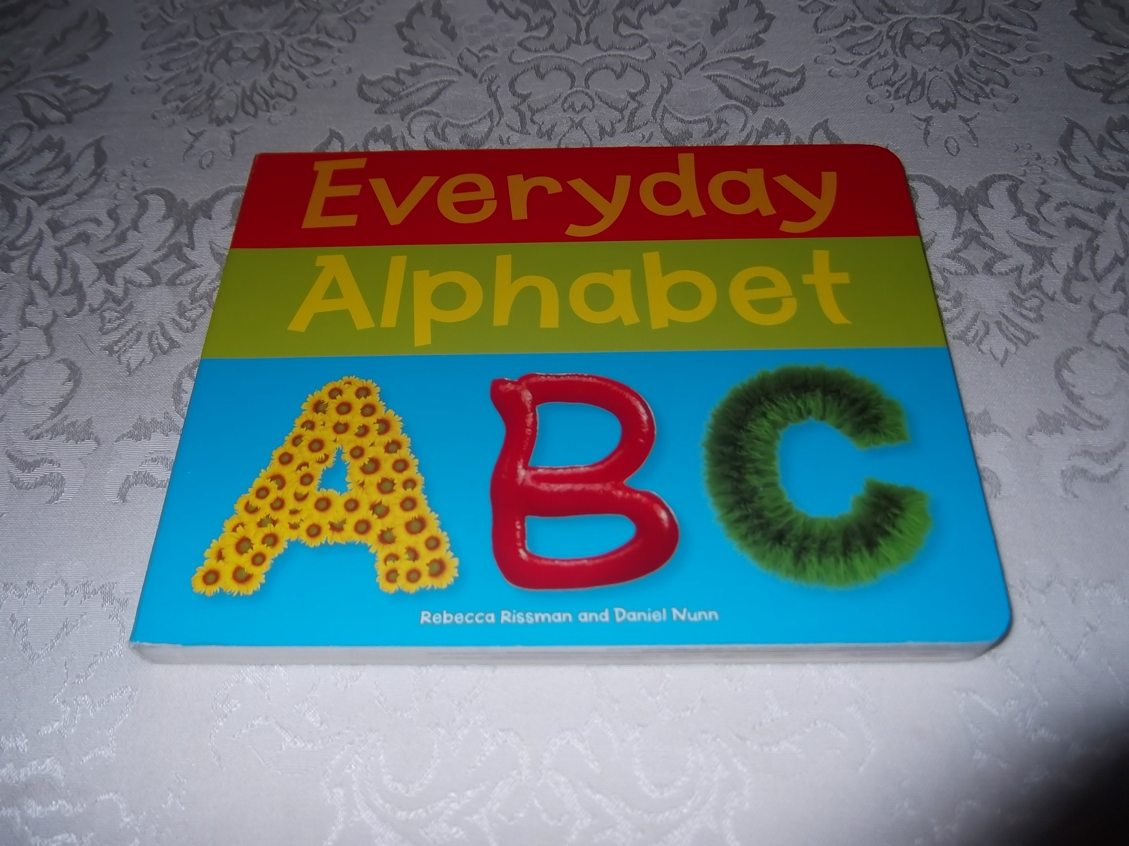 Everyday Alphabet Rebecca Rissman Daniel Nunn Brand New Board Book