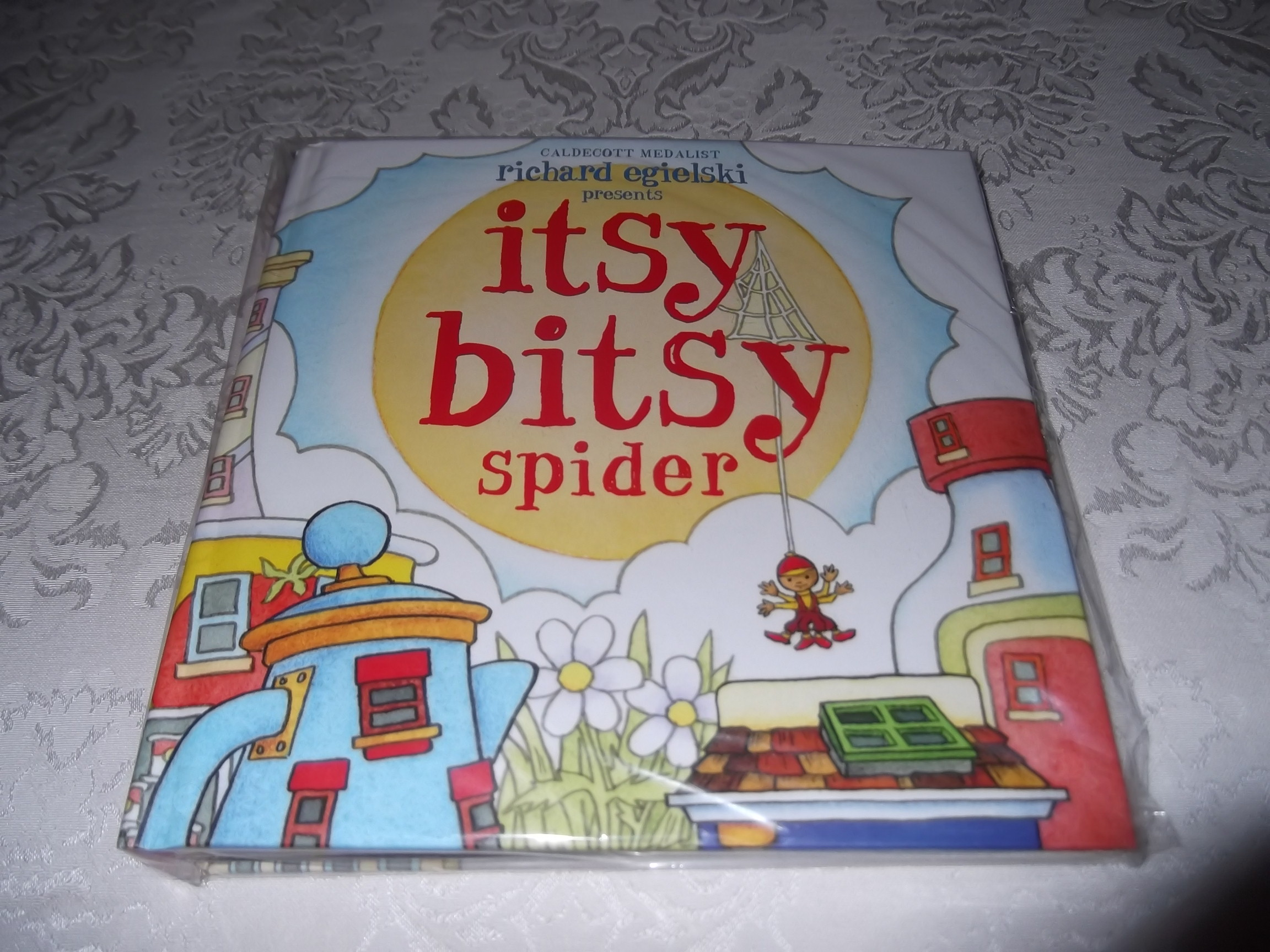 Itsy Bitsy Spider Richard Egielski Brand New Sealed Pop-Up Hardcover