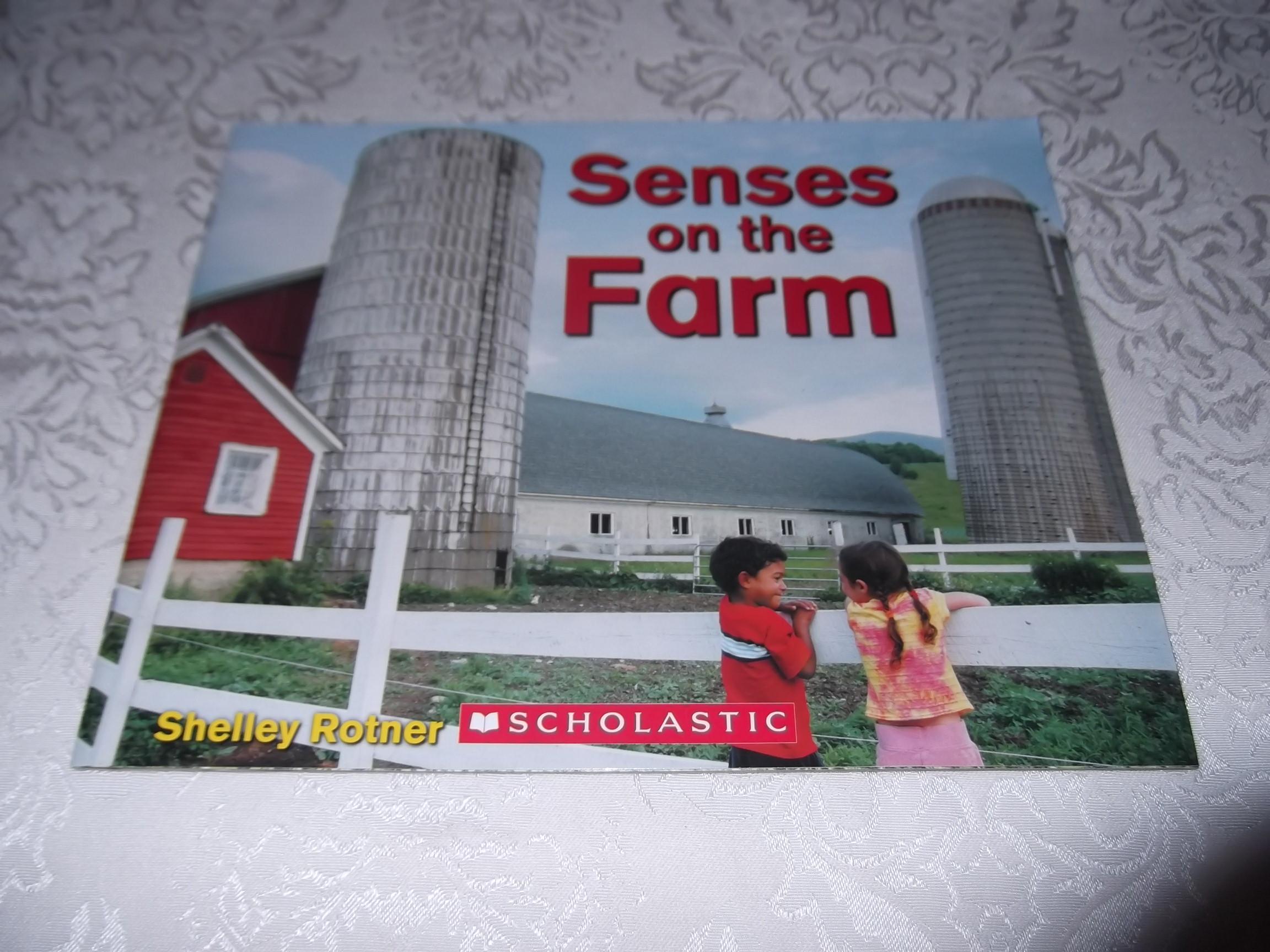 Senses on the Farm Shelley Rotner Brand New SC Five Senses