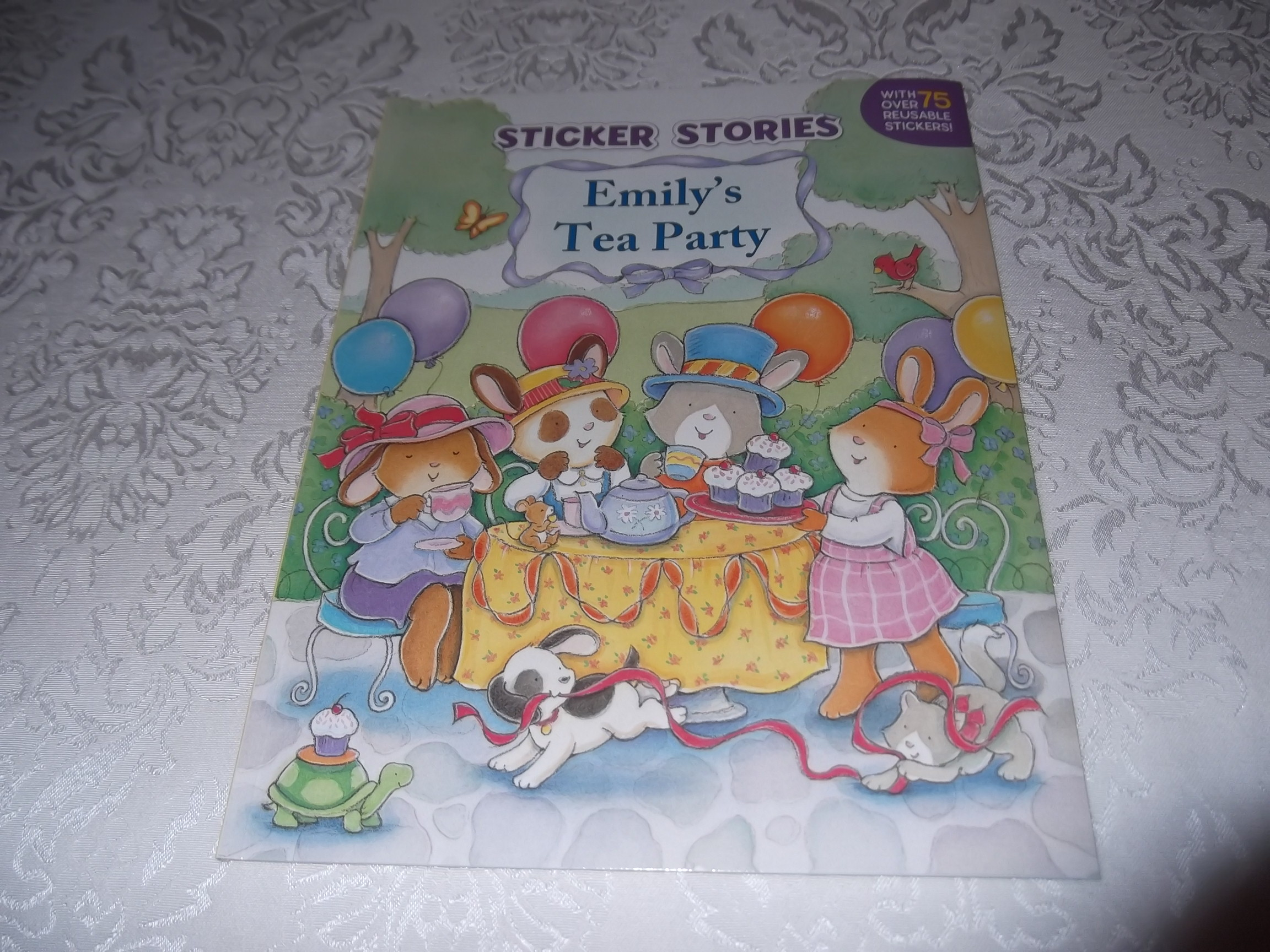 Emily's Tea Party Sticker Stories Claire Masurel Brand New with 75+ Stickers
