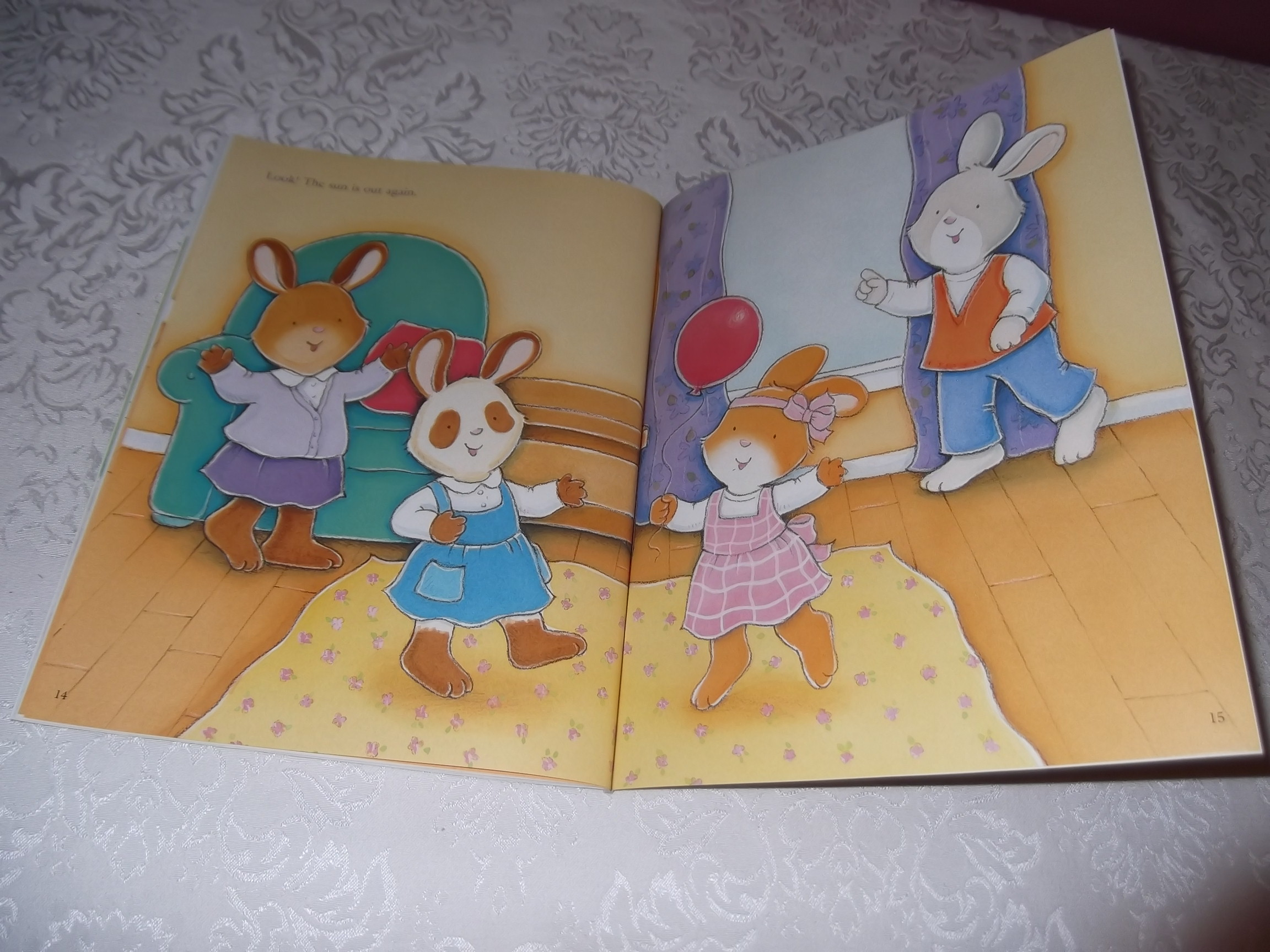 Image 9 of Emily's Tea Party Sticker Stories Claire Masurel Brand New with 75+ Stickers
