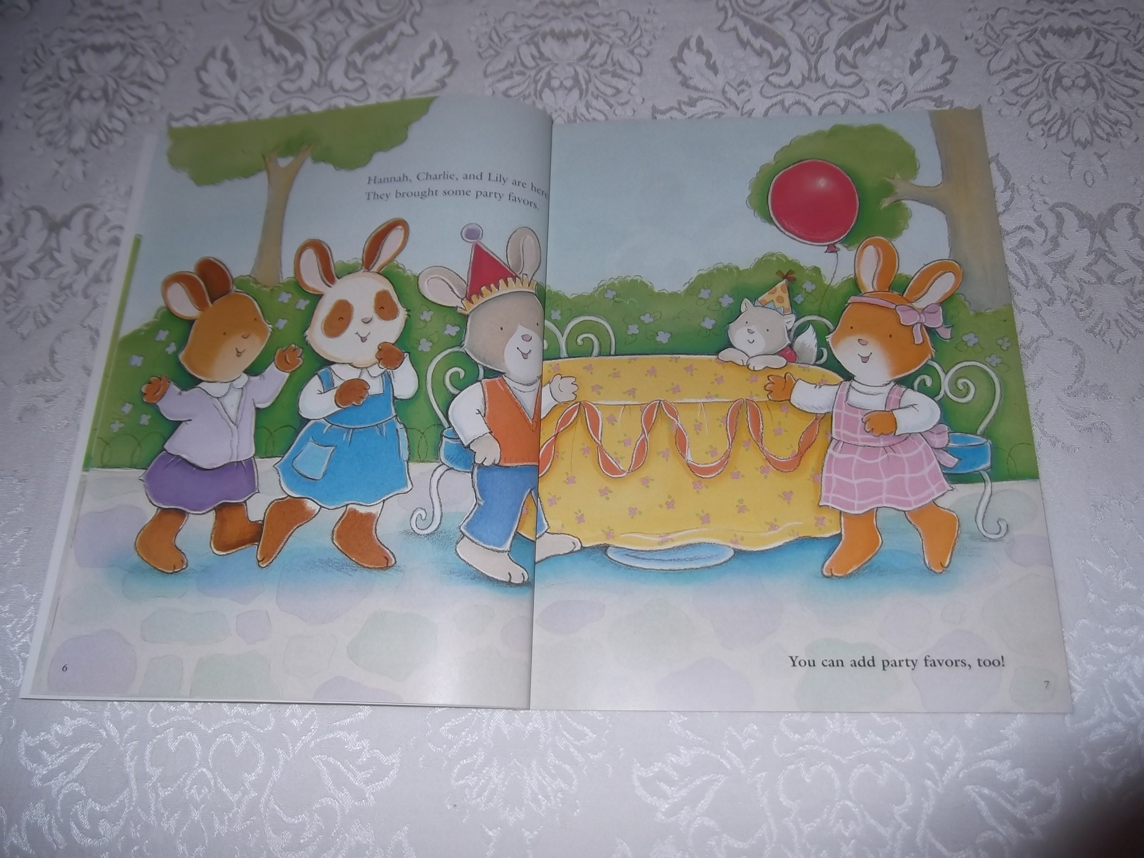 Image 2 of Emily's Tea Party Sticker Stories Claire Masurel Brand New with 75+ Stickers