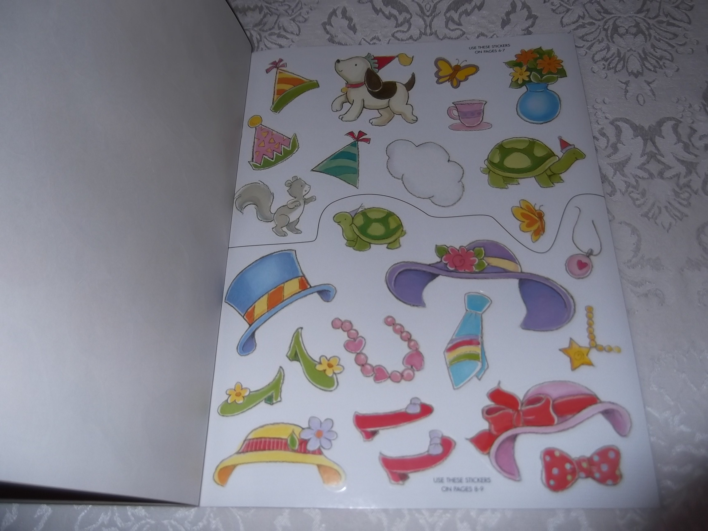 Image 4 of Emily's Tea Party Sticker Stories Claire Masurel Brand New with 75+ Stickers