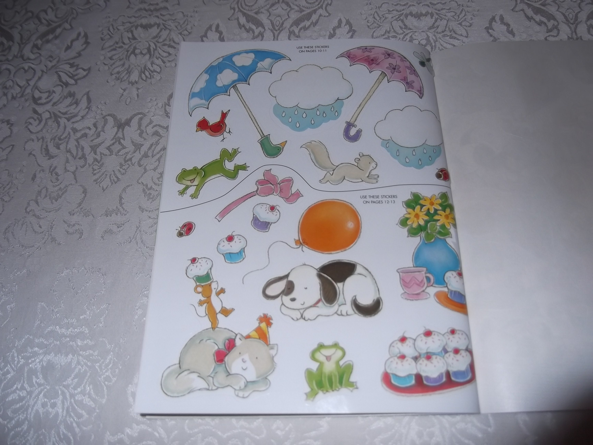 Image 5 of Emily's Tea Party Sticker Stories Claire Masurel Brand New with 75+ Stickers