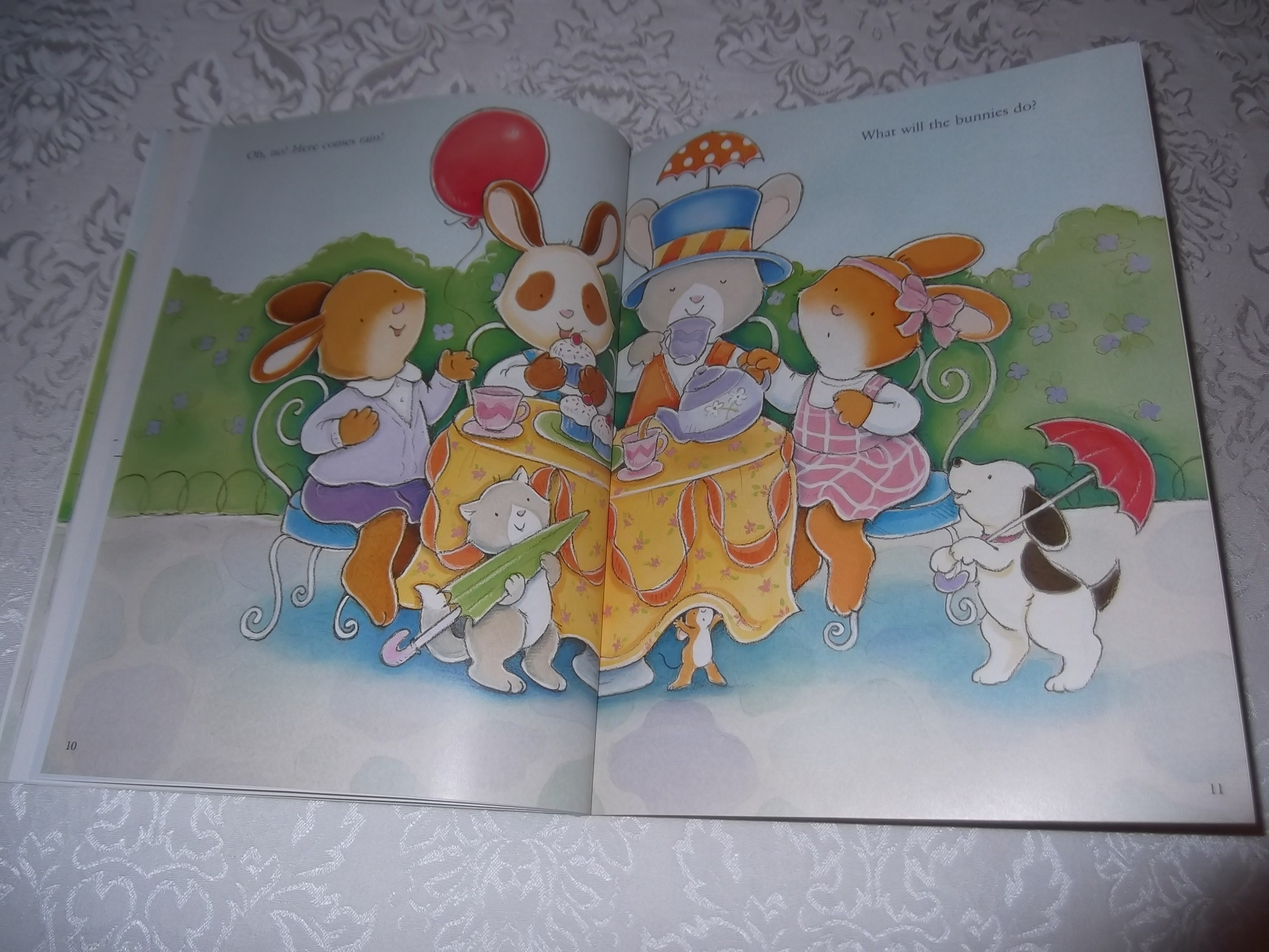Image 7 of Emily's Tea Party Sticker Stories Claire Masurel Brand New with 75+ Stickers