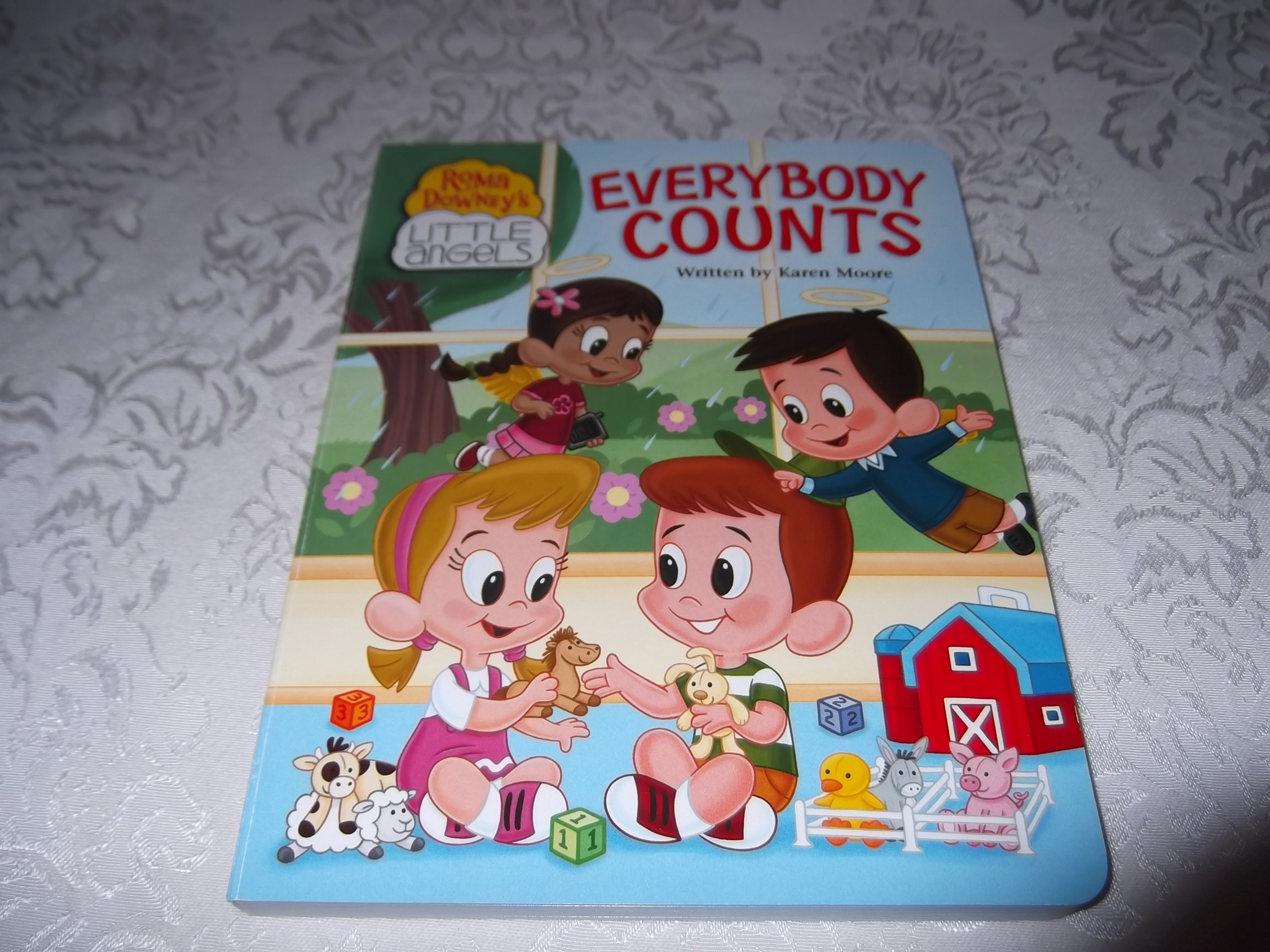 Everybody Counts Karen Moore Roma Downey's Little Angels Brand New Board Book