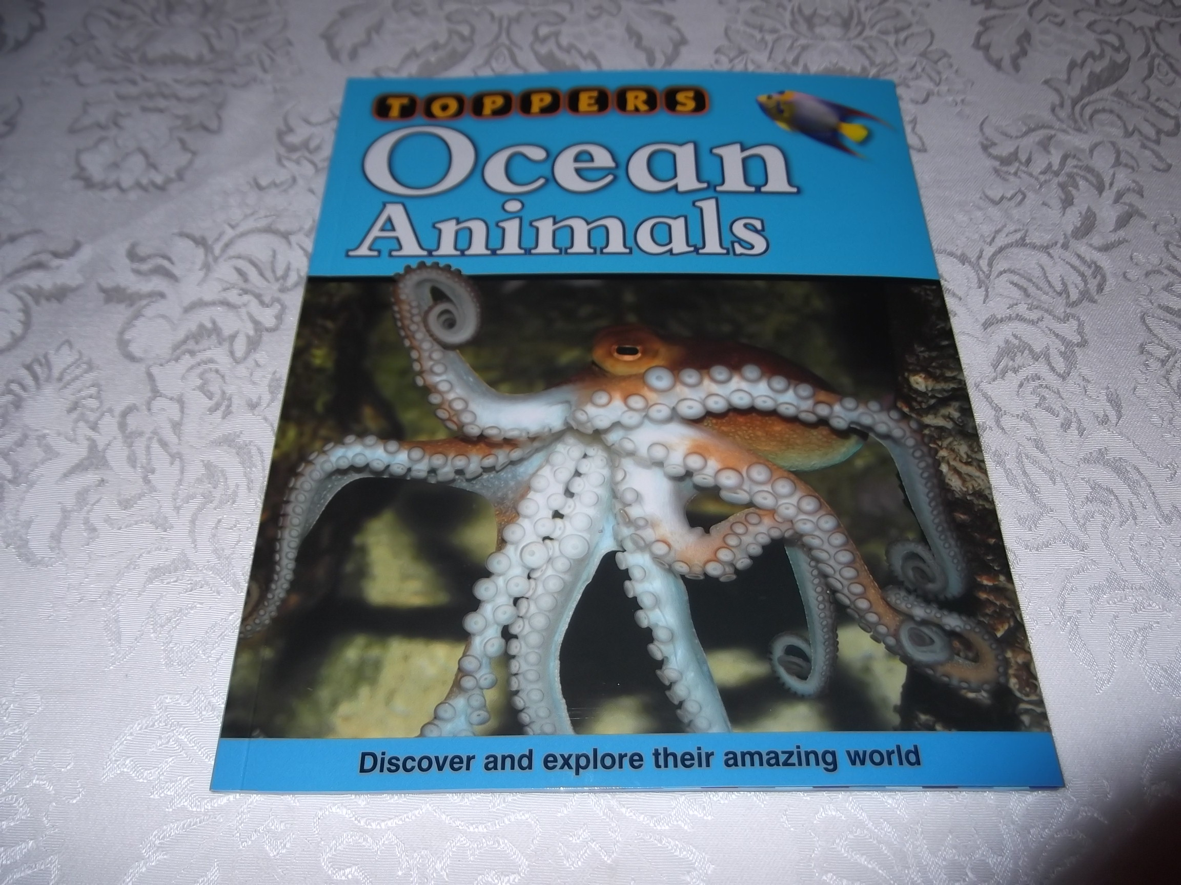 Toppers Ocean Animals with CD-ROM Disc Windows 2000+ Brand New