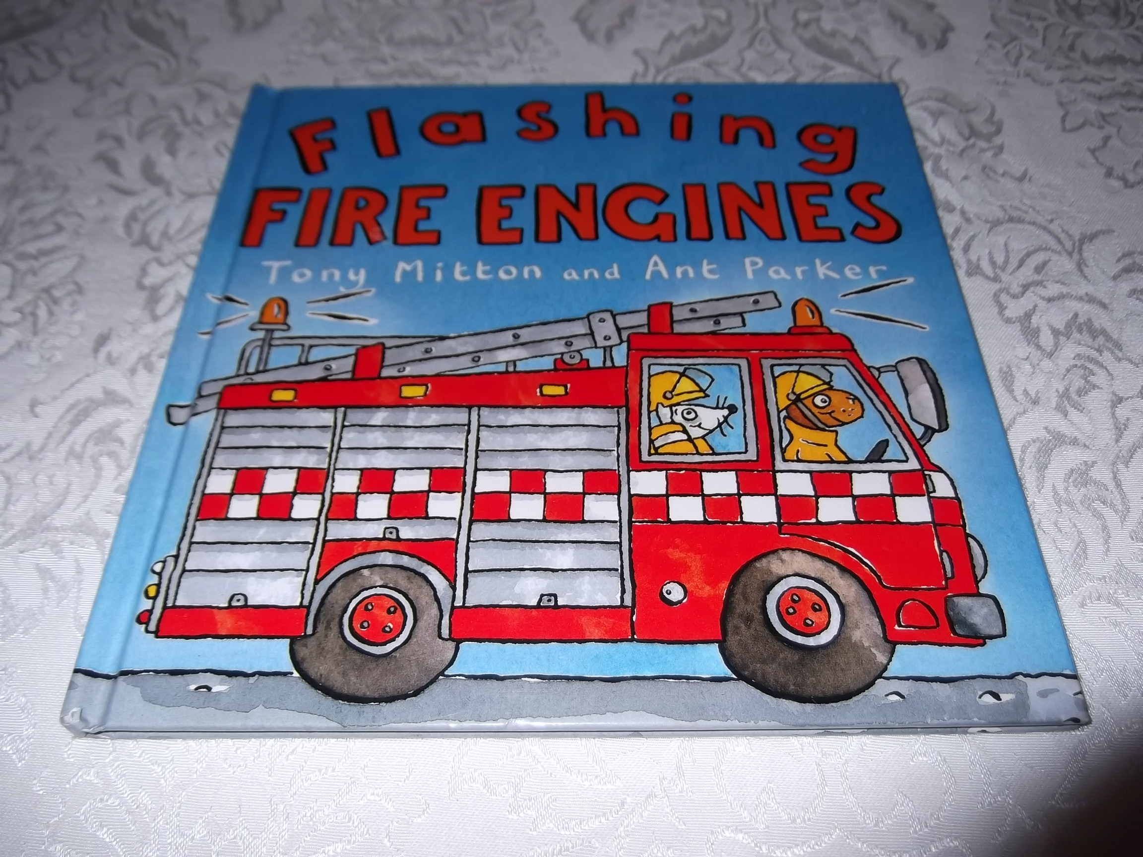 Flashing Fire Engines Tony Mitton Ant Parker good hardcover