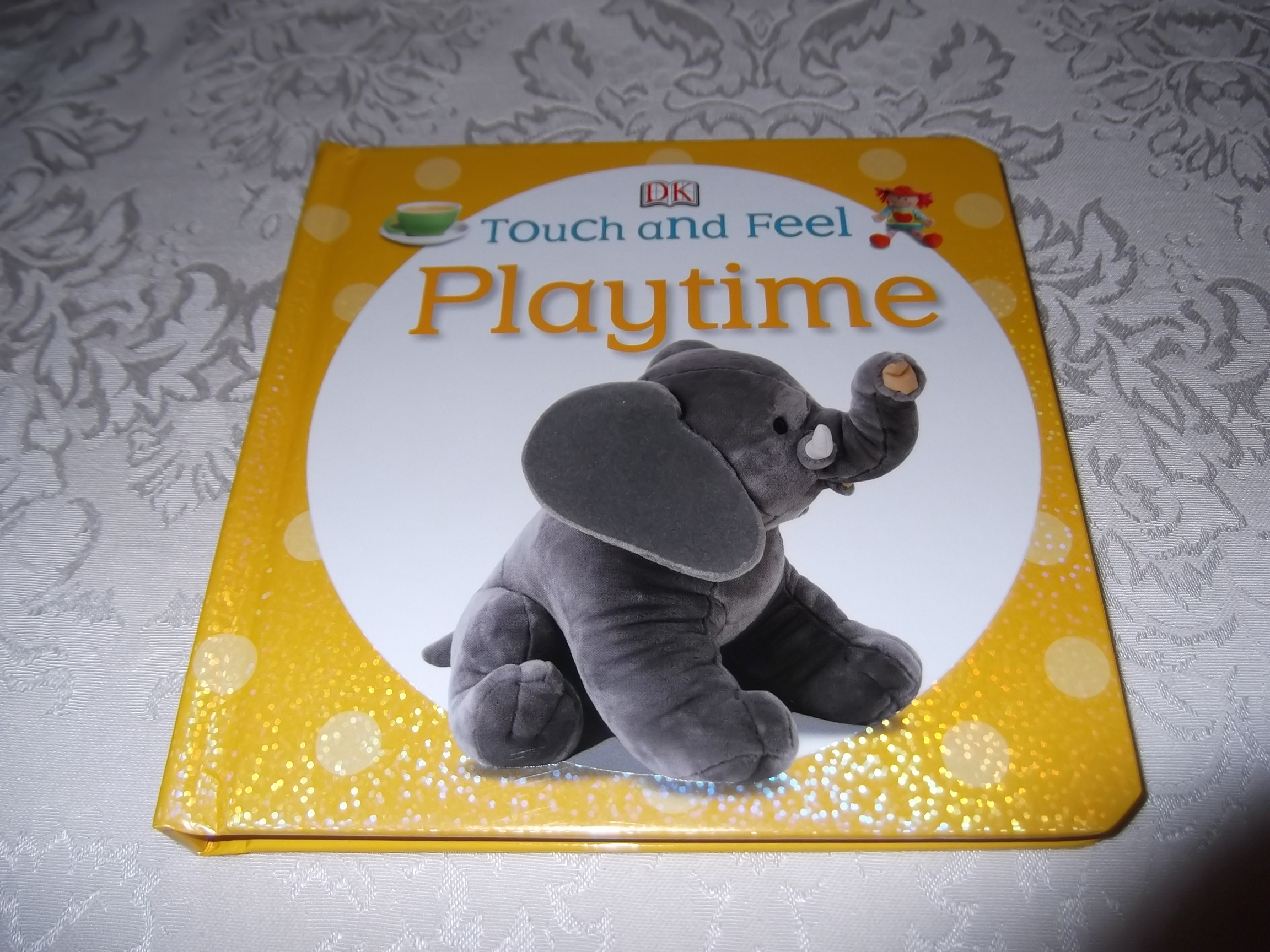 DK Touch and Feel Playtime Brand New Board Book