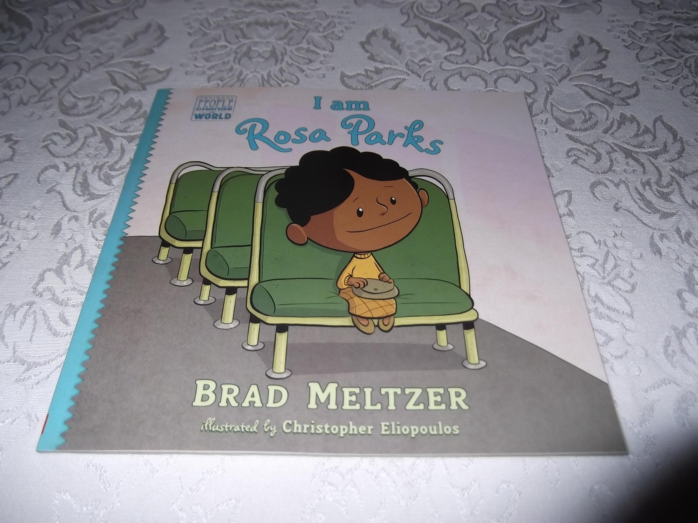 I am Rosa Parks Brad Meltzer Brand New SC Ordinary People Change The World