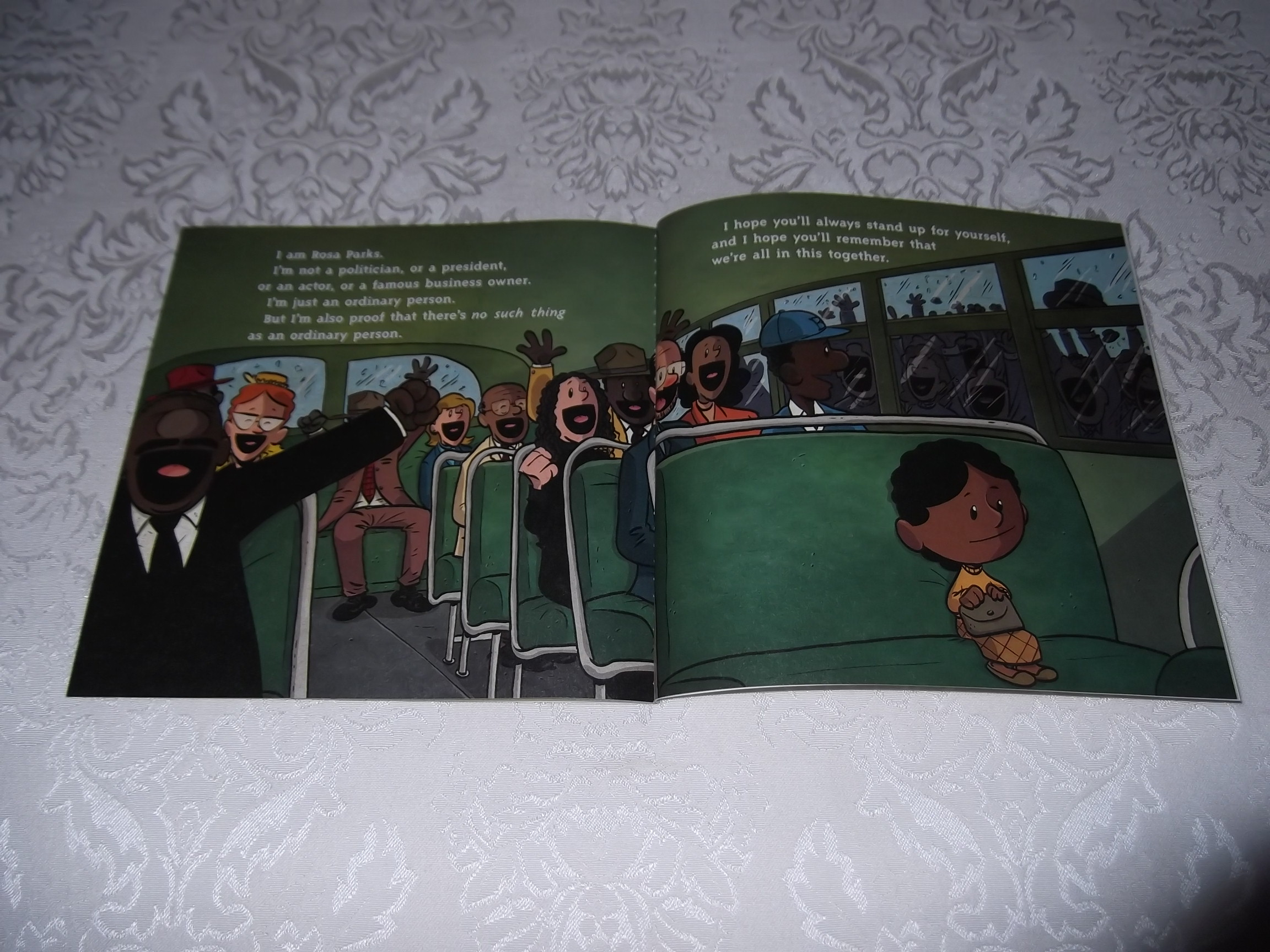 Image 3 of I am Rosa Parks Brad Meltzer Brand New SC Ordinary People Change The World