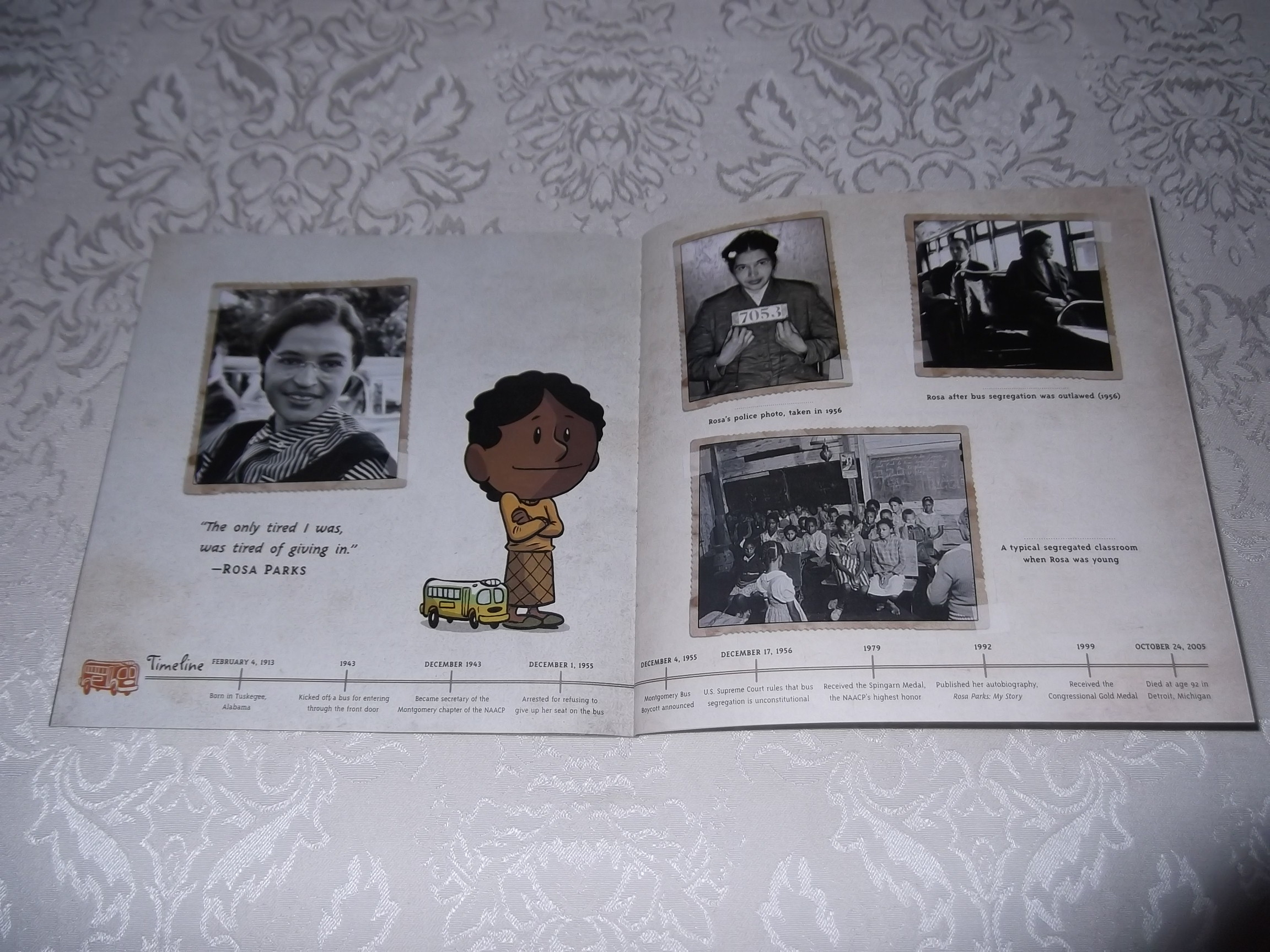 Image 4 of I am Rosa Parks Brad Meltzer Brand New SC Ordinary People Change The World