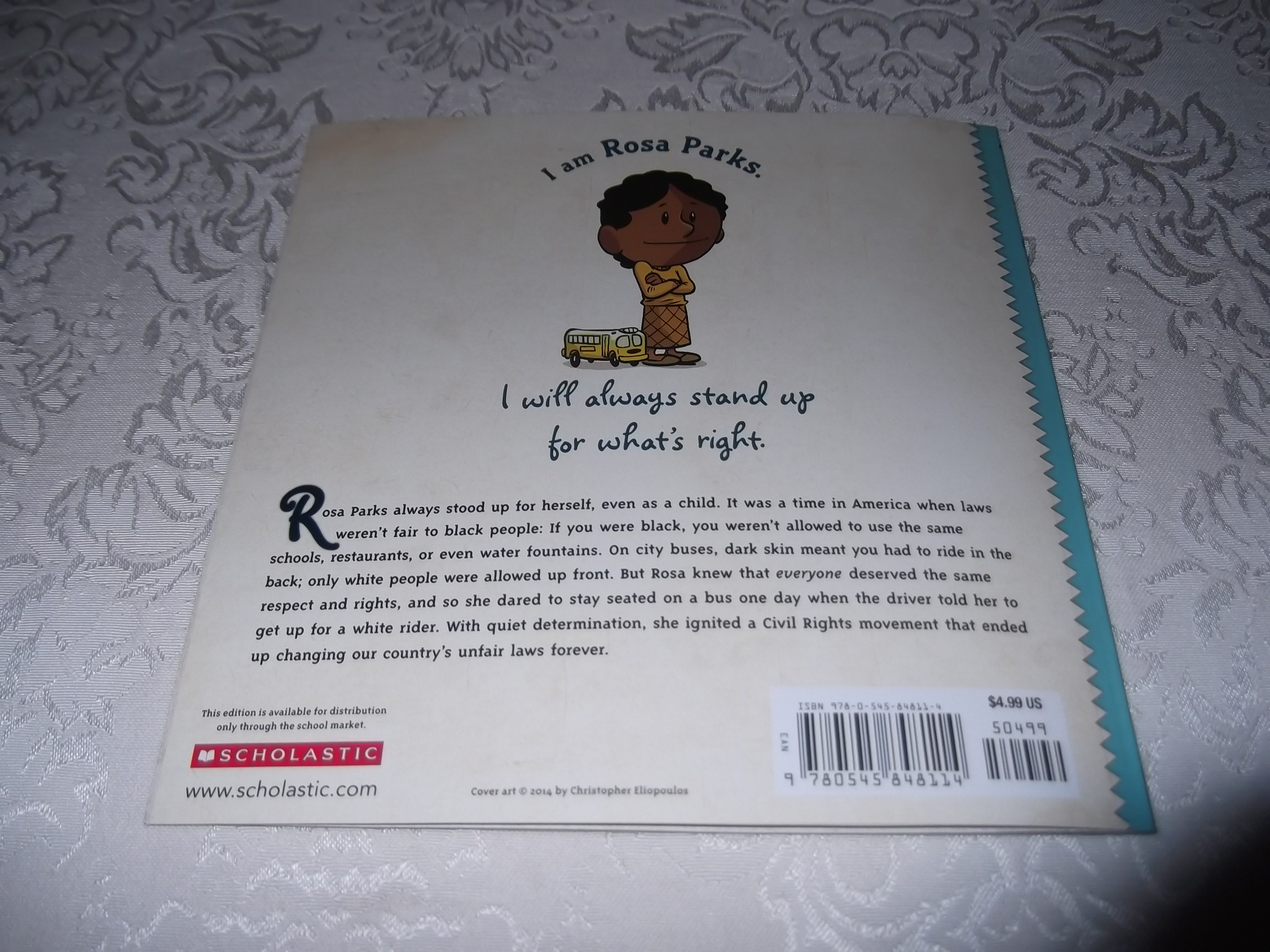 Image 5 of I am Rosa Parks Brad Meltzer Brand New SC Ordinary People Change The World