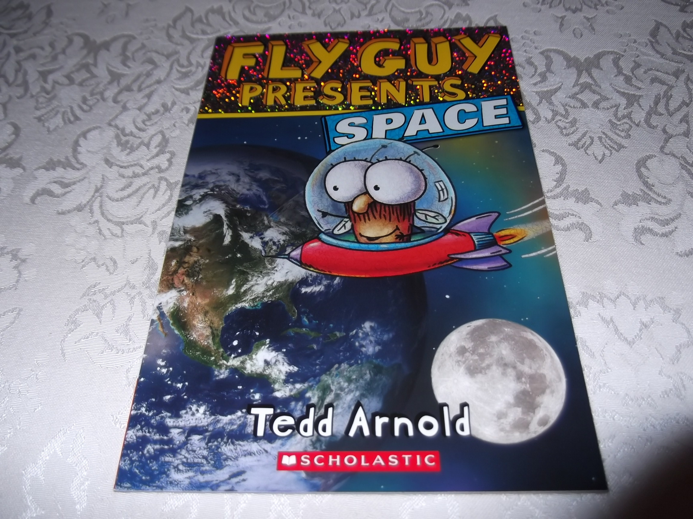 Fly Guy Presents Space Tedd Arnold Brand New Softcover