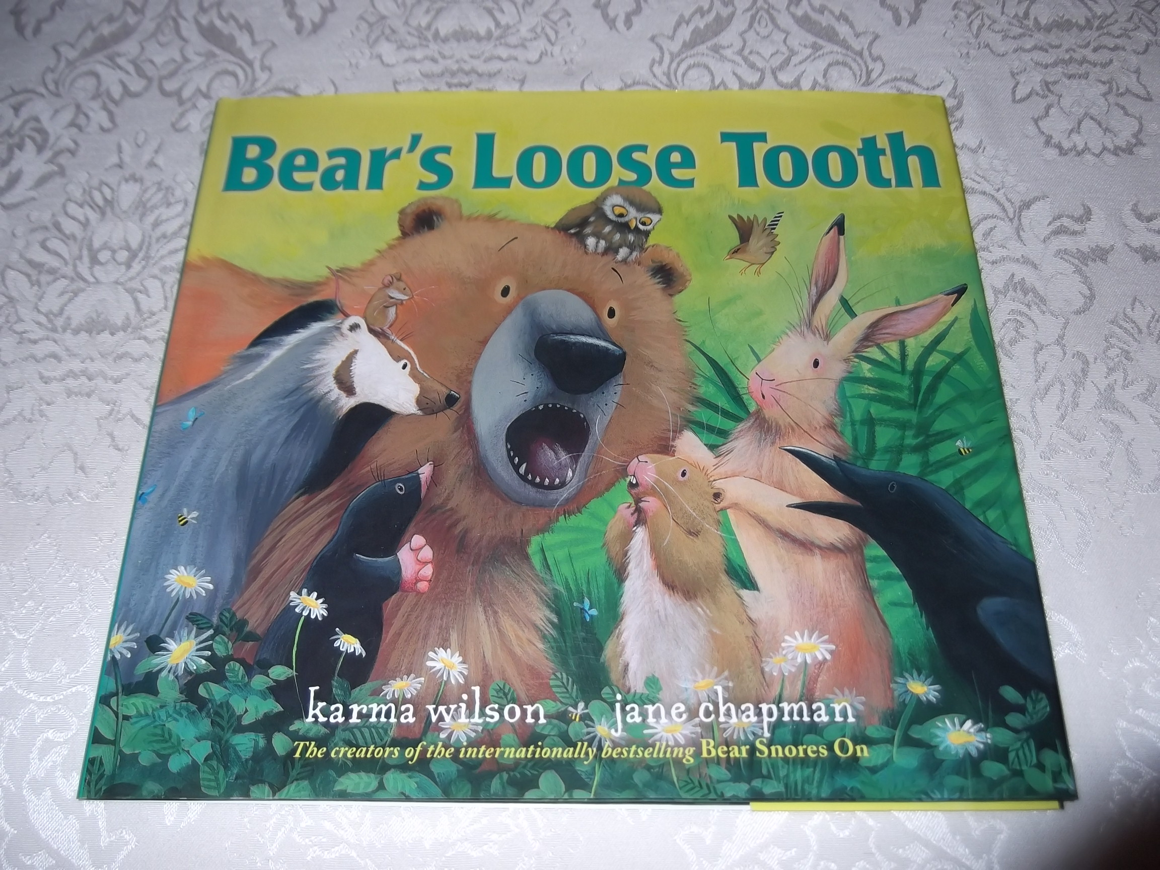 Bear's Loose Tooth Karma Wilson Jane Chapman Brand New HC with Dust Jacket