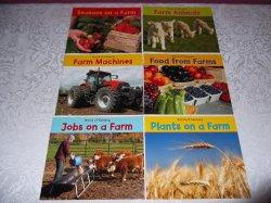 Farm Seasons, Animals, Machines, Food, Plants, Jobs World of Farming Set NEW