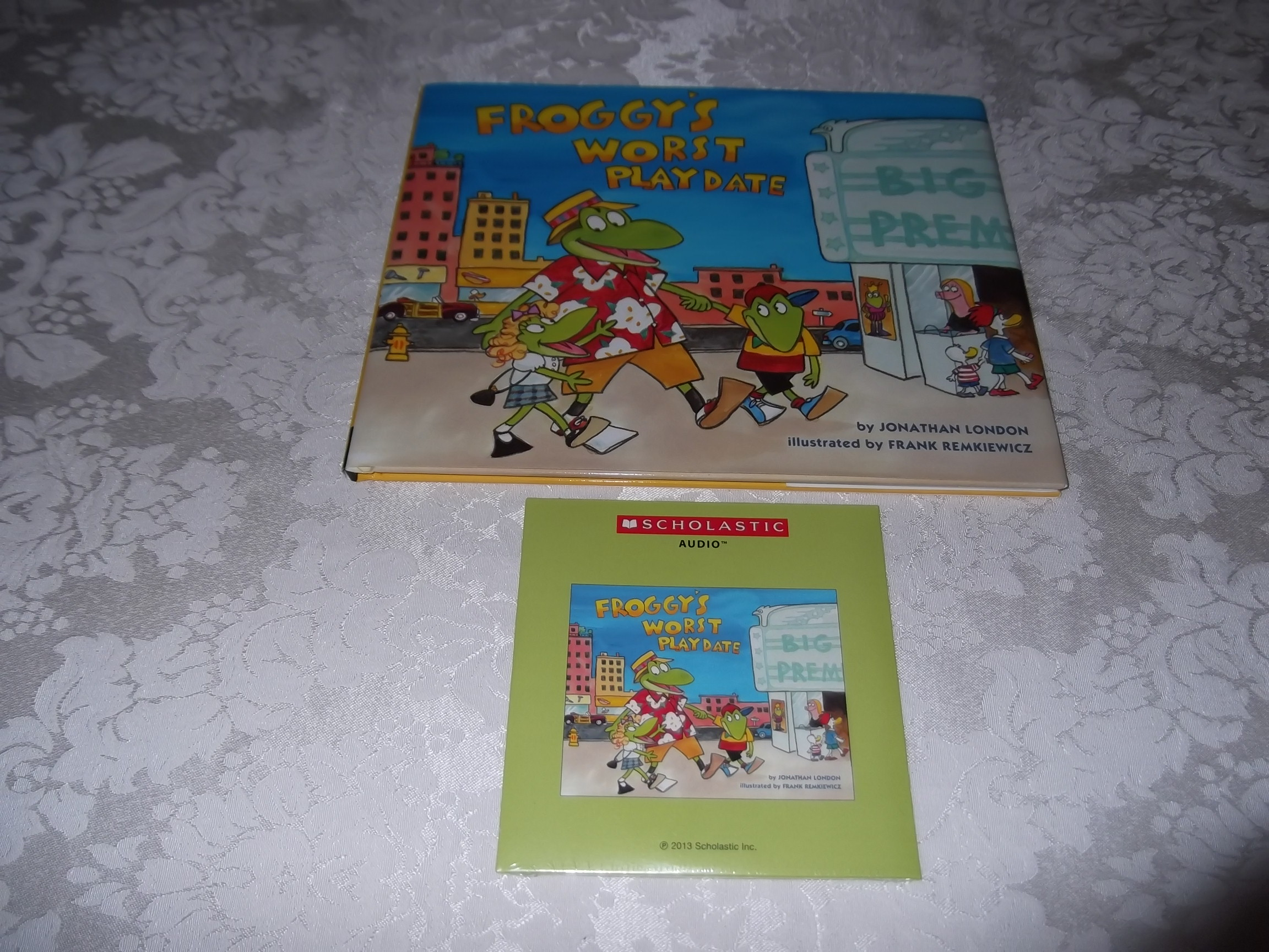 Froggy's Worst Playdate Jonathan London Brand New Audio CD and Hardcover