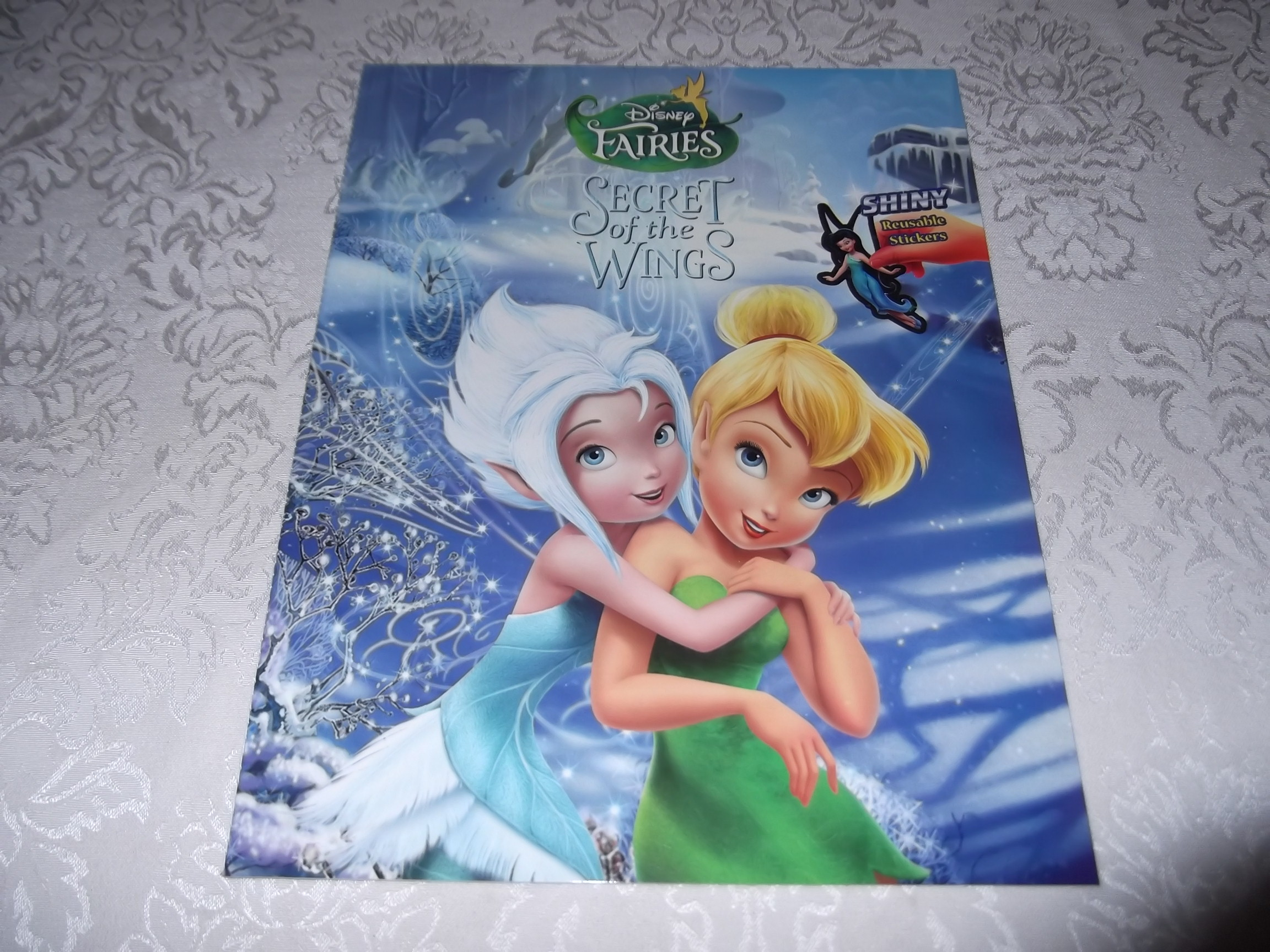 Disney Fairies Secret of the Wings Brand New with 50+ Shiny Reusable Stickers