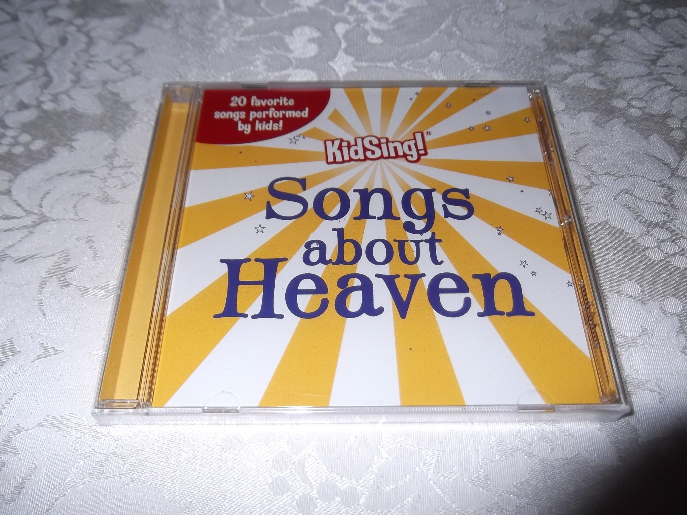 KidSing! Songs About Heaven Brand New and Sealed Music CD